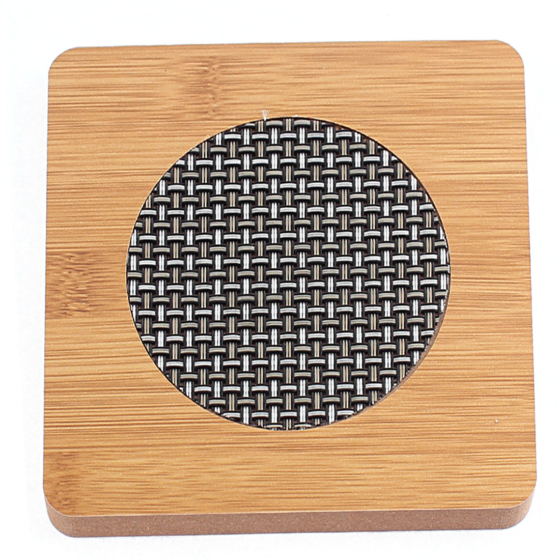 Household Wooden Square Shape Heat Resistant Cup Pot Mat Coaster Pad
