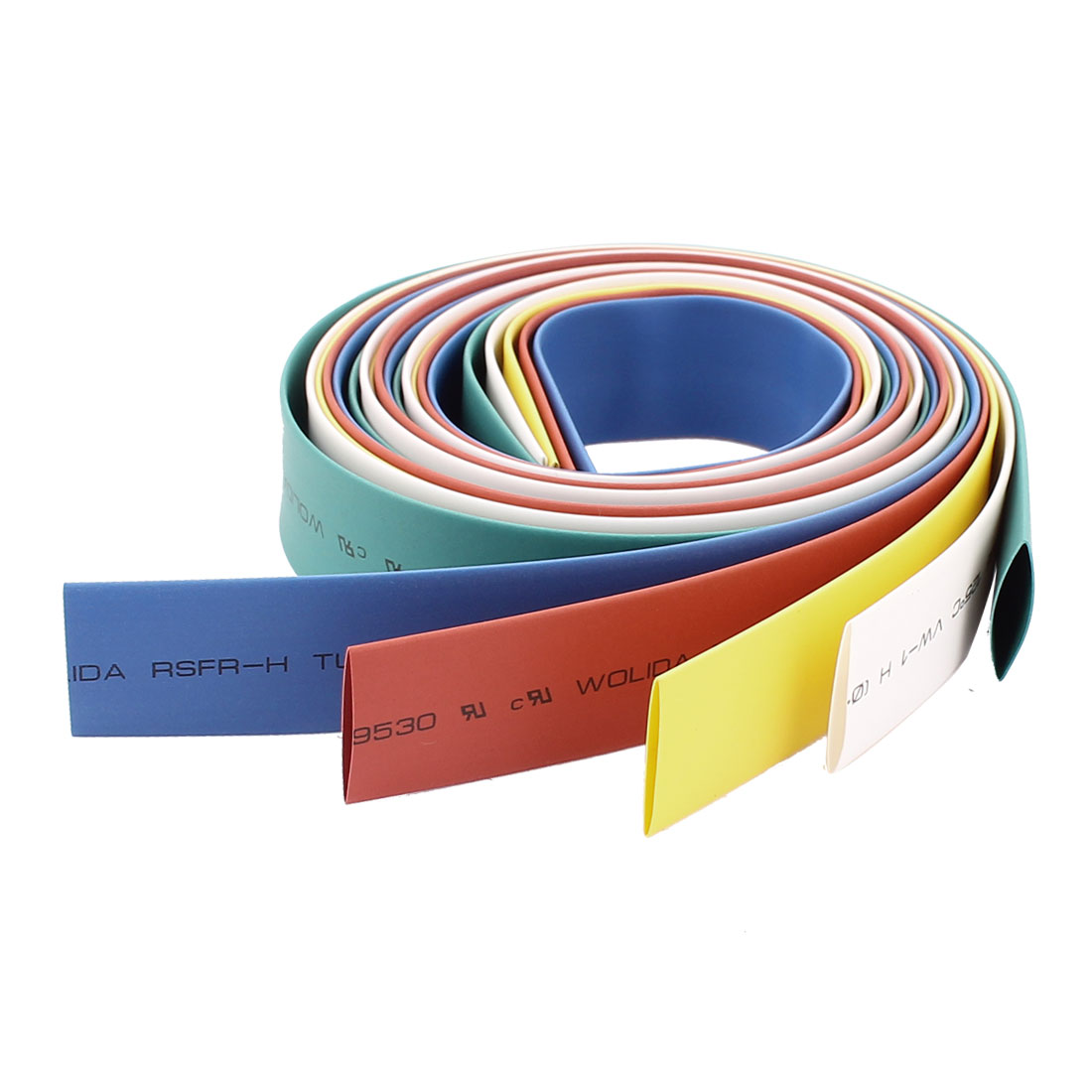 14mm Polyolefin Heat Shrink Tubing Shringking Tube Multi Color 5pcs