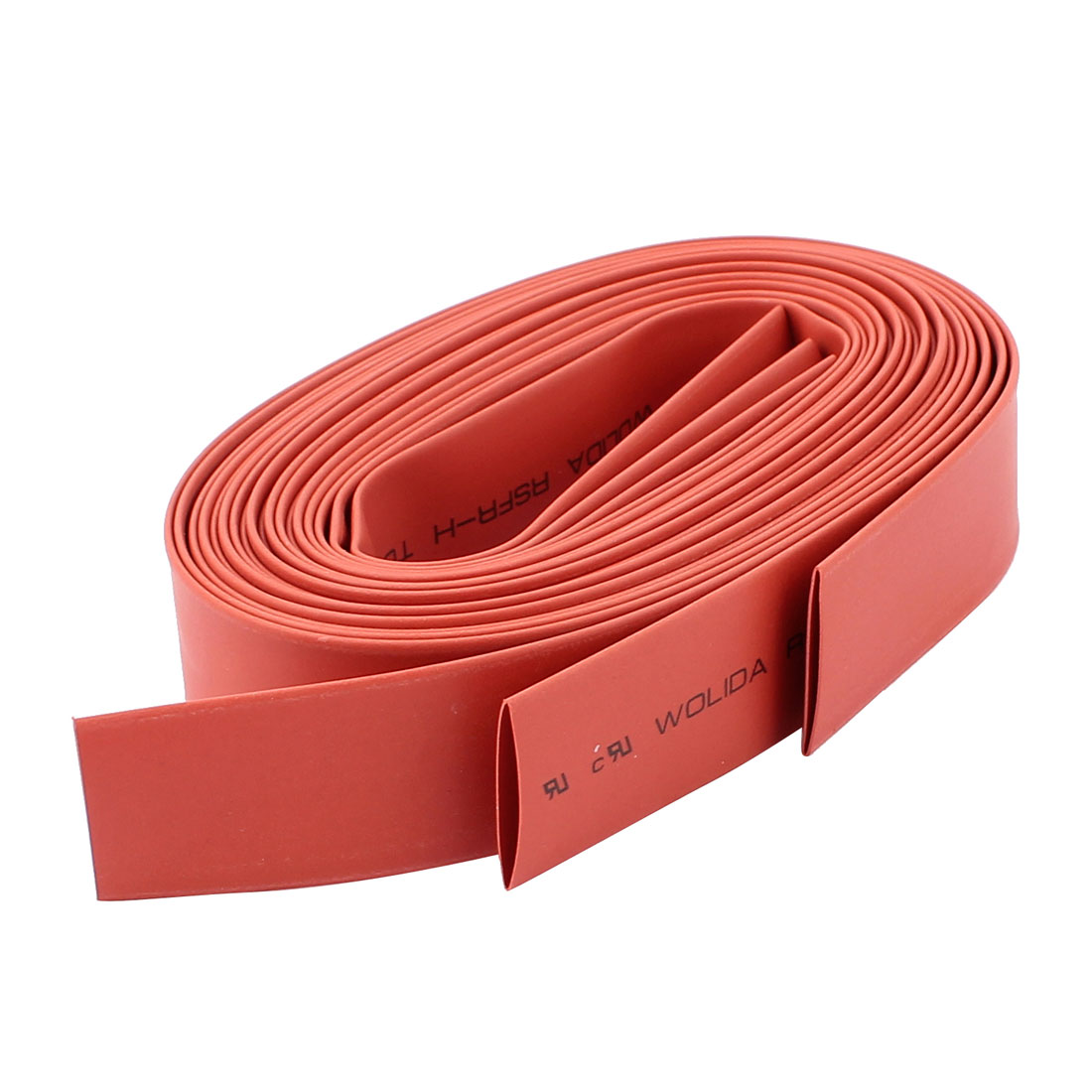 Sleeving Wrap Wire Polyolefin Heat Shrink Tubing Kit 4.9Ft Red 3pcs