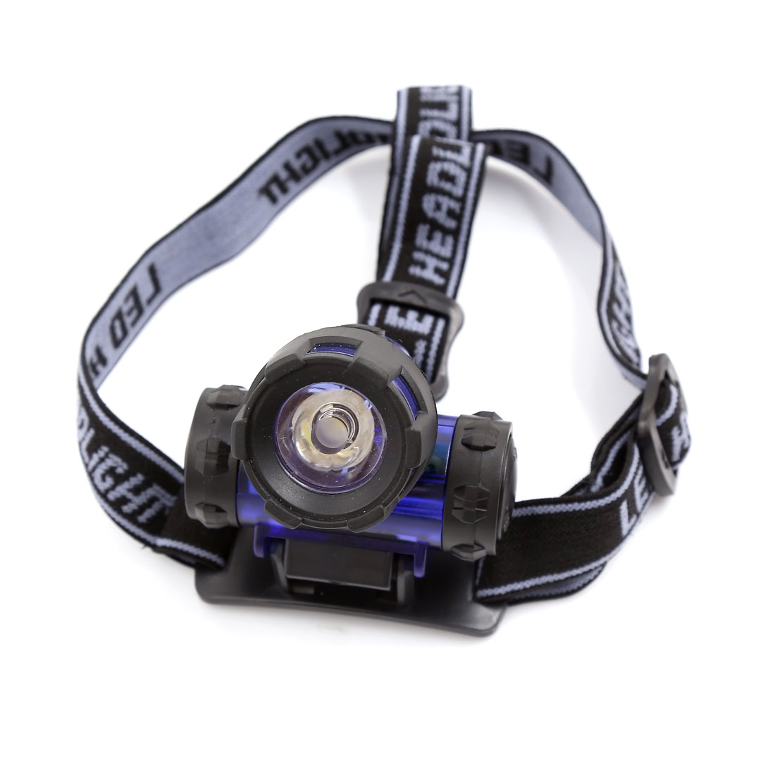 3W White LED Adjustable Angle Elastic Strap Headlight Headlamp Torch for Camping