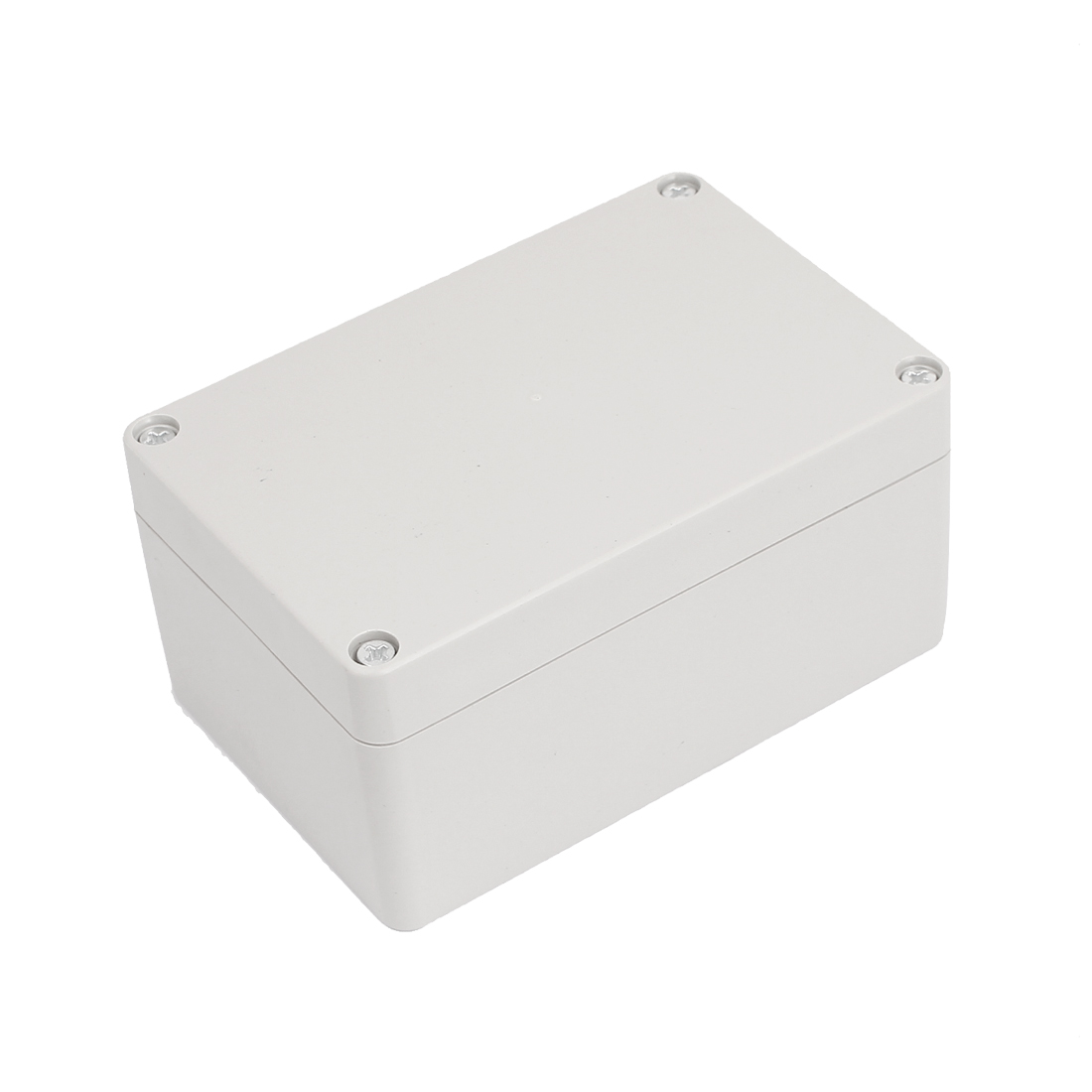 Rectangular Electrical Power Distribution Box Guard Cover Light Gray