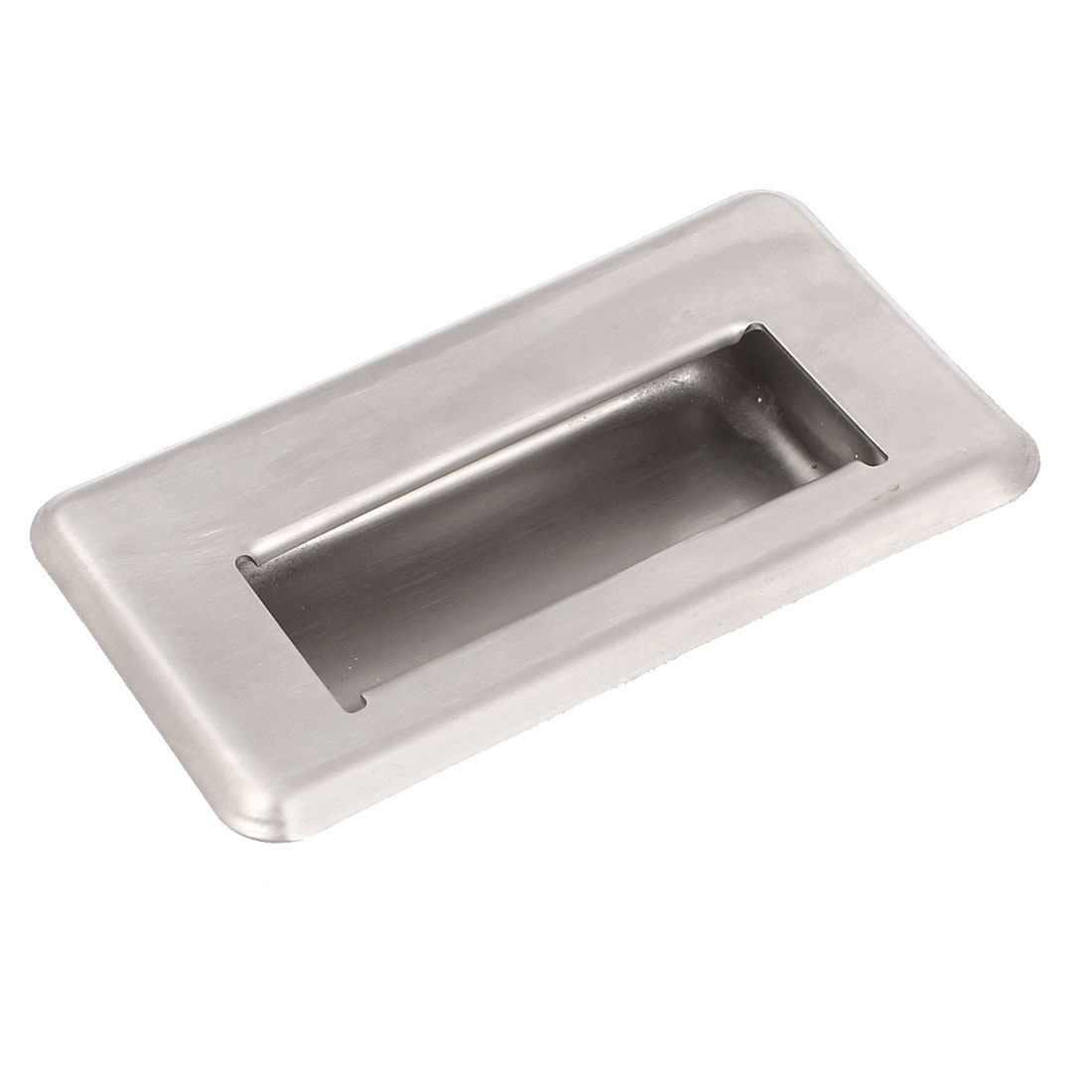 118mmx68mm Cupboard Drawer Door Stainless Steel Rectangle Pull Handles