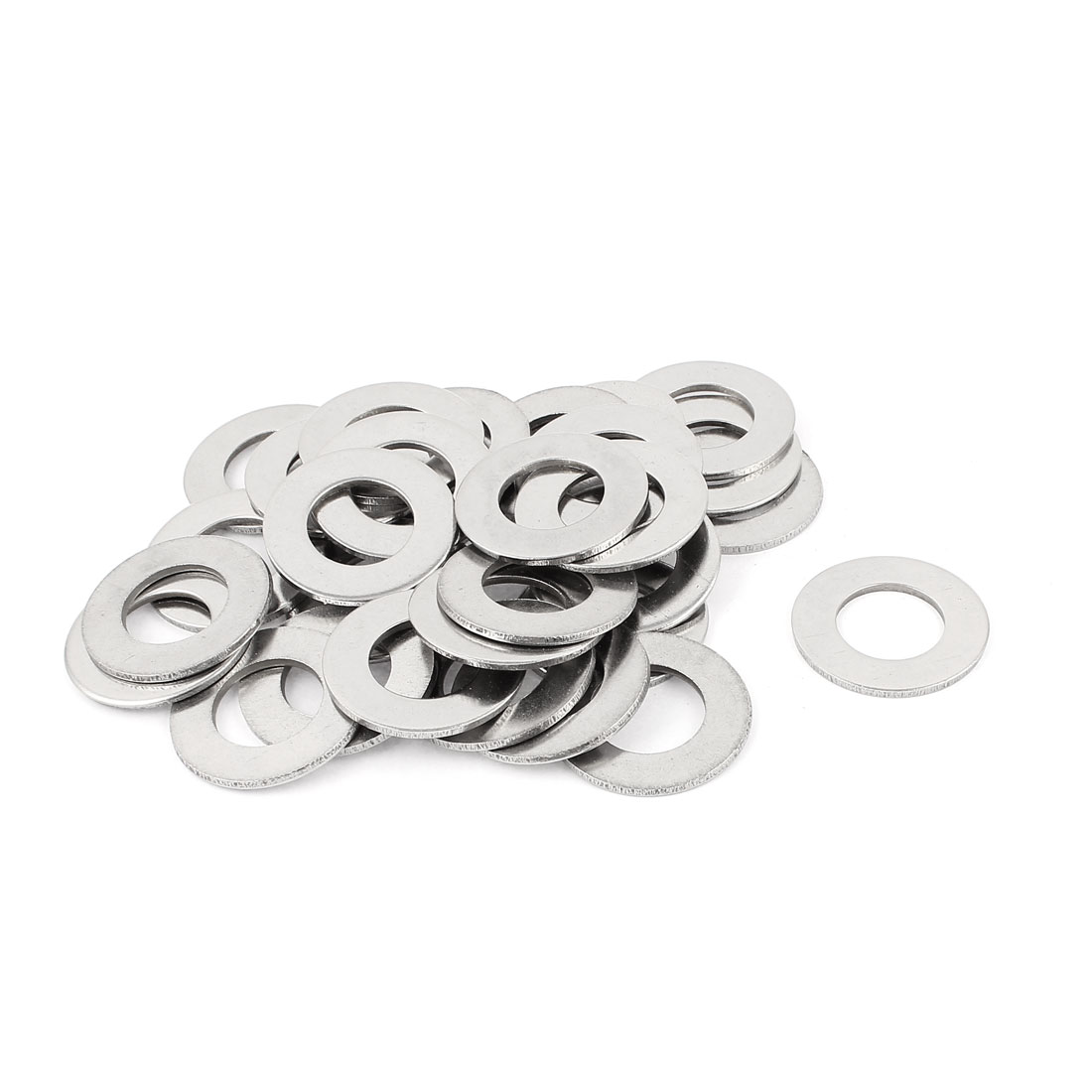 Spring Screw Stainless Steel M22 Flat Washer Spacer Fastener 30pcs