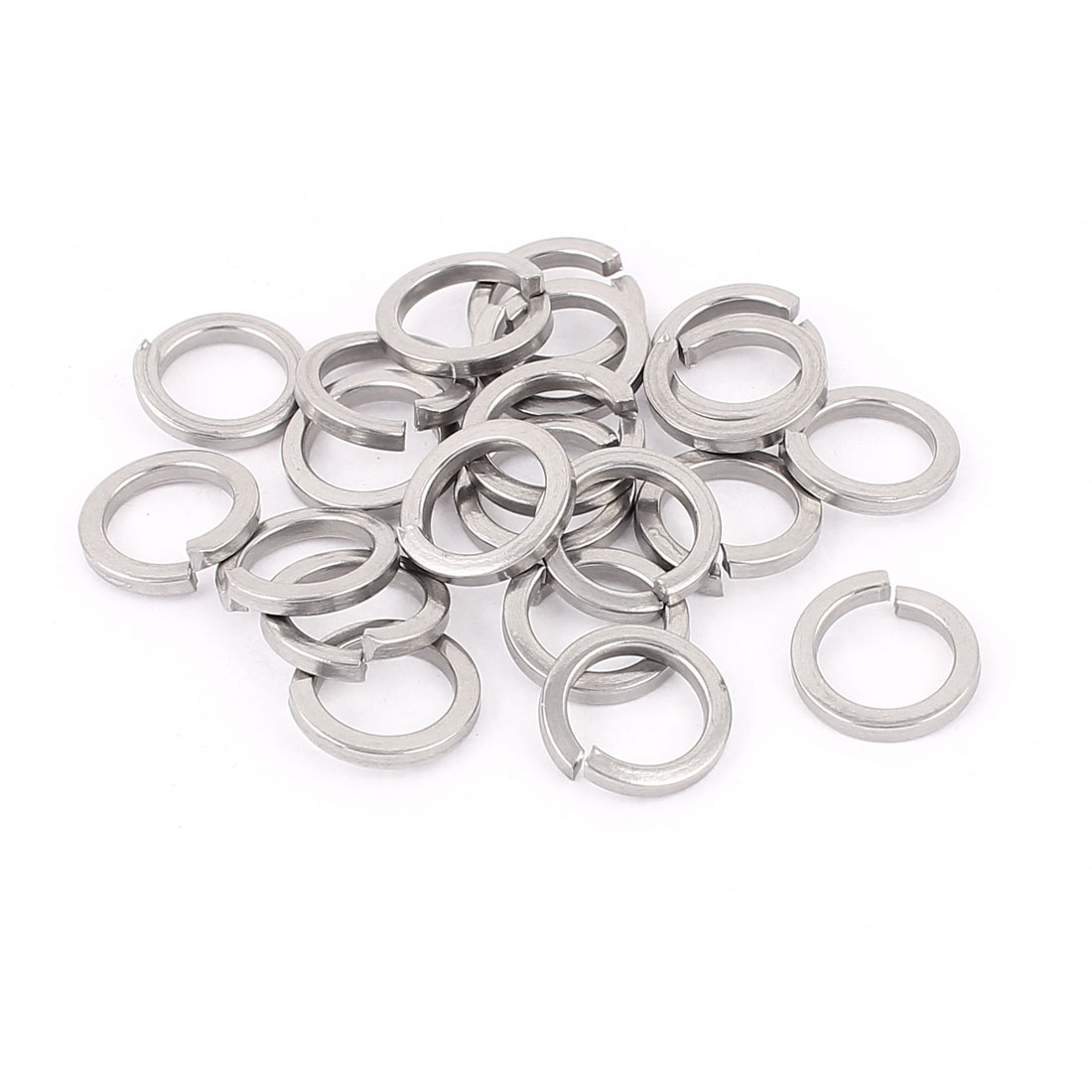 20pcs 304 Stainless Steel M10 Spring Lock Washers Screw Pad