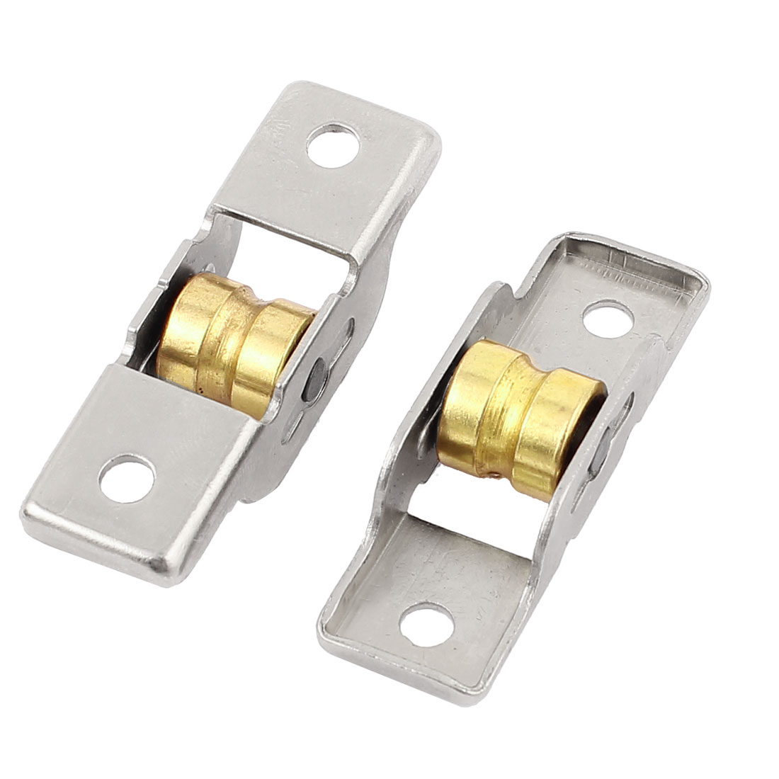 2Pcs 3mm Groove Width 11mm Diameter Rolling Wheel Sliding Furniture Sash Doors Single Roller Axle Window Pulley