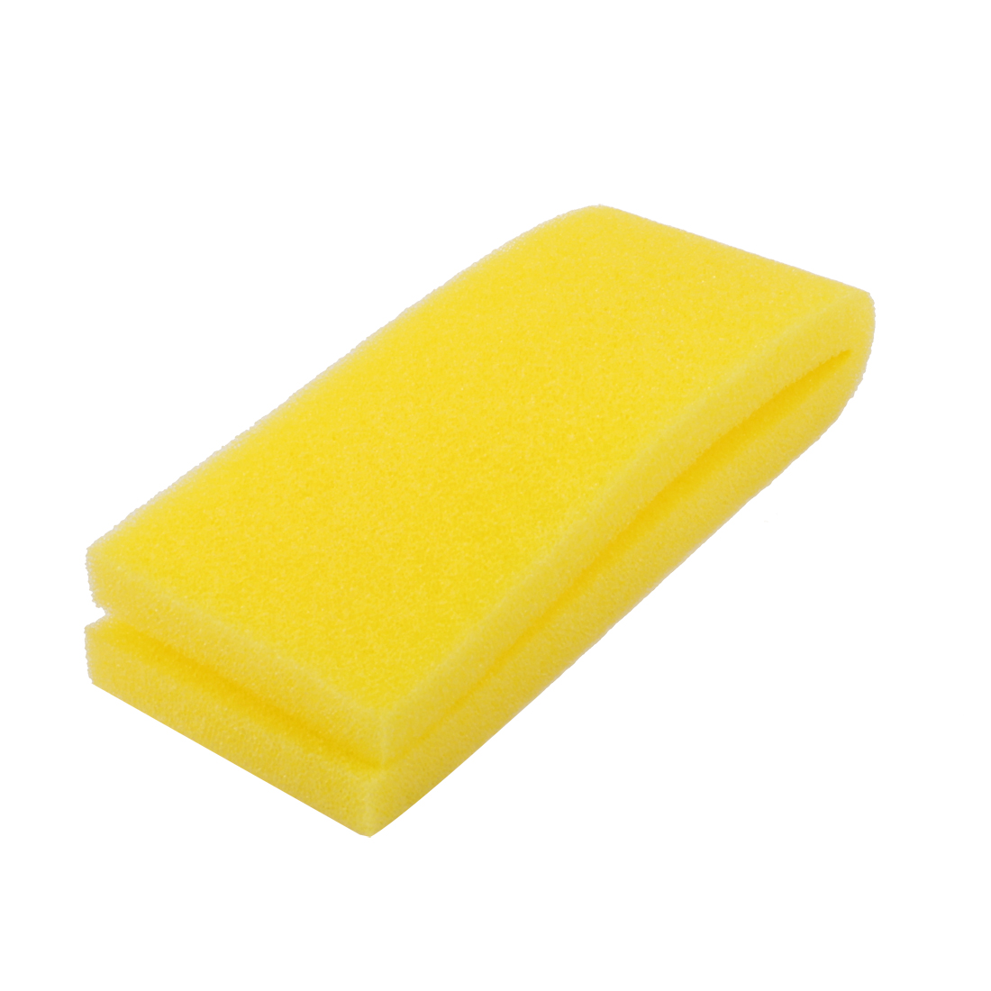 Fish Tank Rectangle Shaped Biochemical Recycling Filter Sponge for Fresh Water Aquarium Yellow