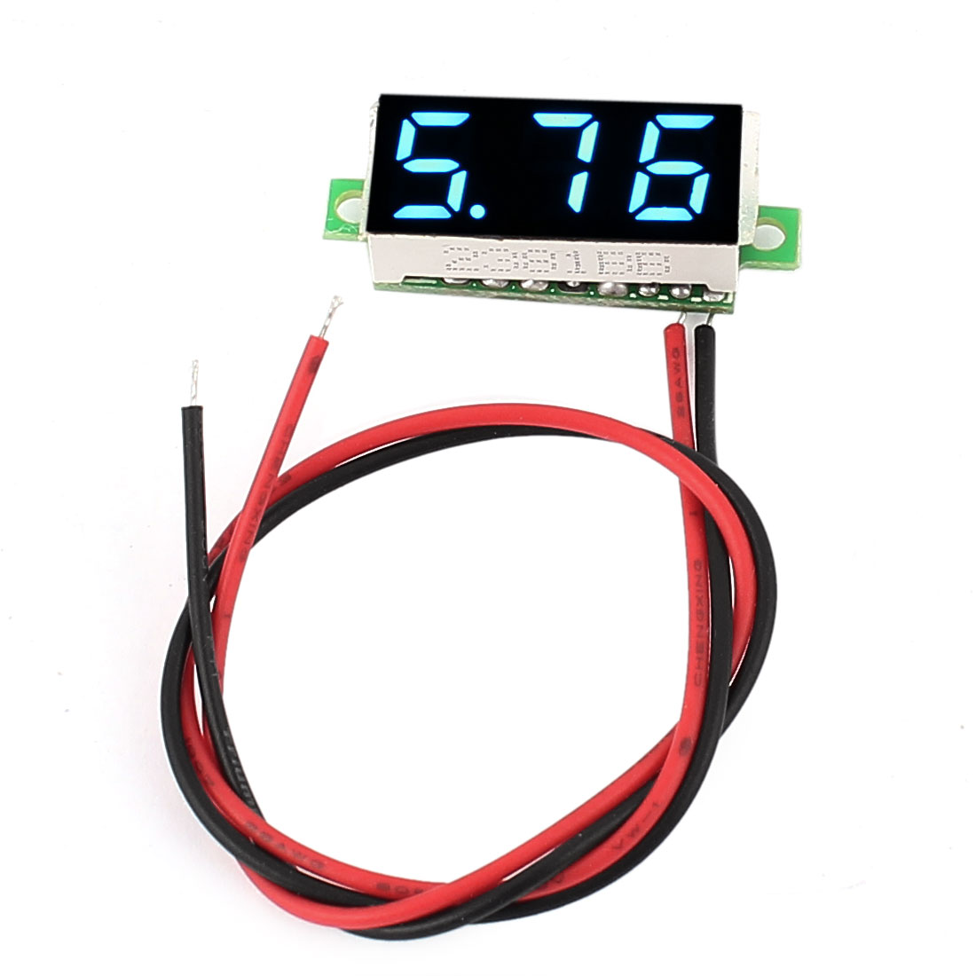 "0.28"" Mini Display DC 2.5-30V Panel Meter 3 Digits Red LED Voltmeter"