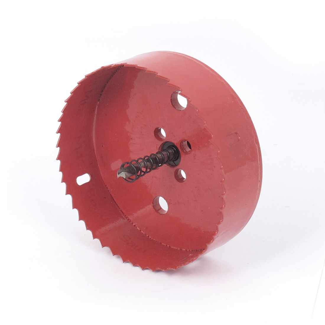 6mm Drill Bit 115mm Cutting Diameter Hole Saw Red for Drilling Wood