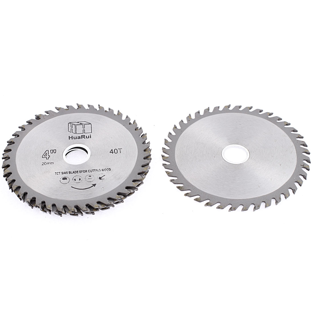 5 Pcs 110mmx20mmx1mm 40 Teeth Circular Cutting TCT Saw Cutter Hand Tool