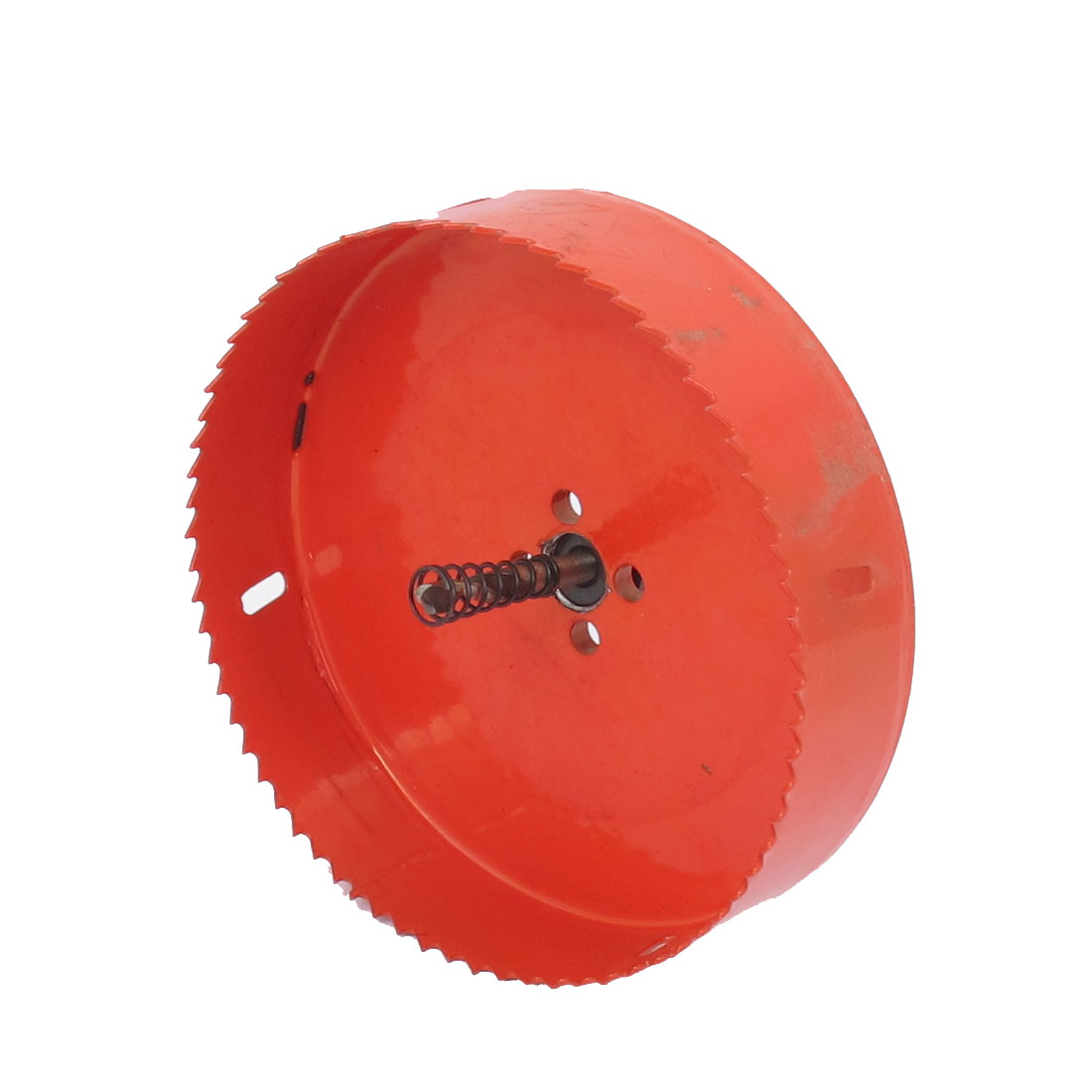 6mm Drill Bit 145mm Cutting Diameter Hole Saw Red for Drilling Wood