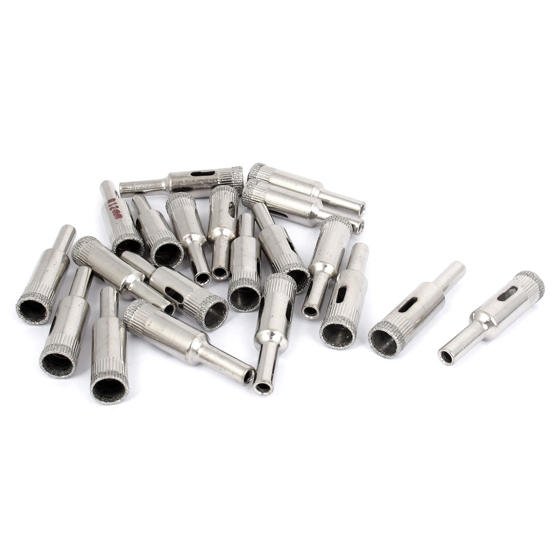 20pcs 12mm Dia. Diamond Coated Core Drill Bit Tile Marble Glass Ceramic Hole Saw