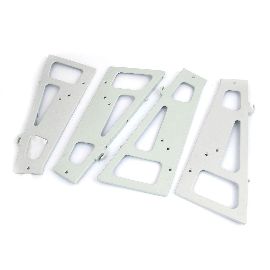 28cmx12cm Furniture Shoe Storage Cabinet Cupboard Rack Accessories 2 Pair