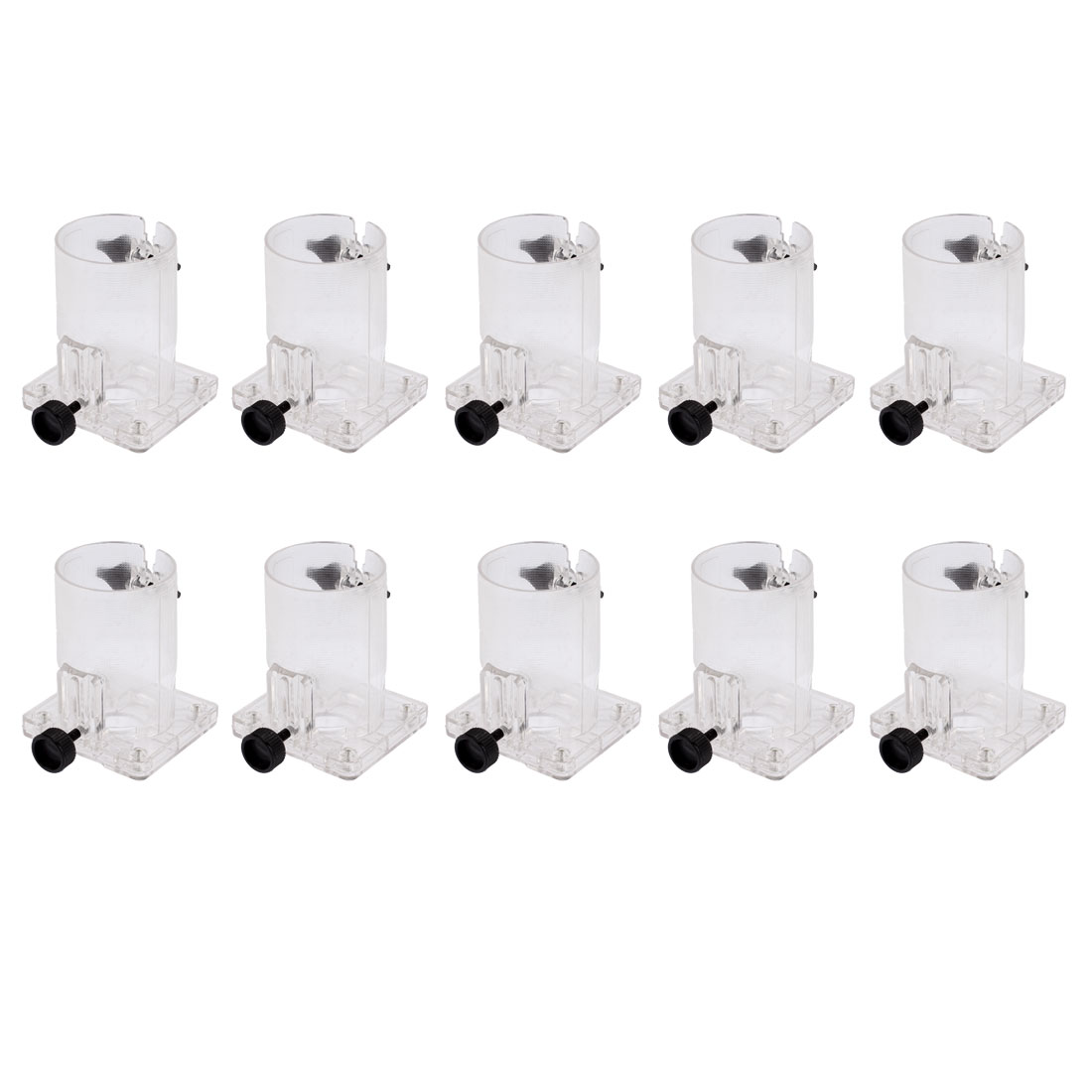 10 Pcs 7cm Cylinder Dia Hard Plastic Base Assembly for Makita 3703 Trimmer