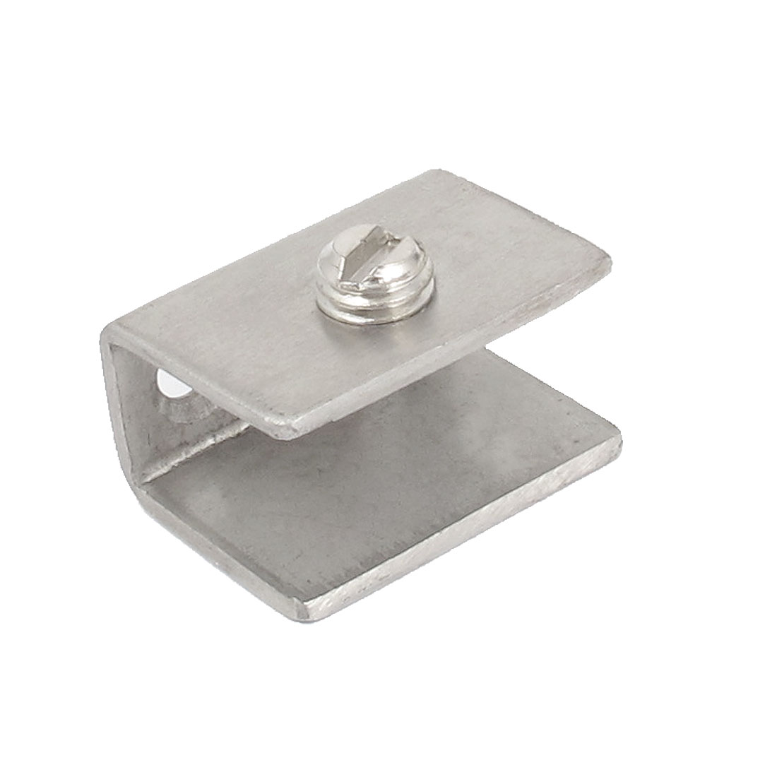 Stainless Steel 10mm Thick Glass Shelf Clip Clamp Support Bracket Holder
