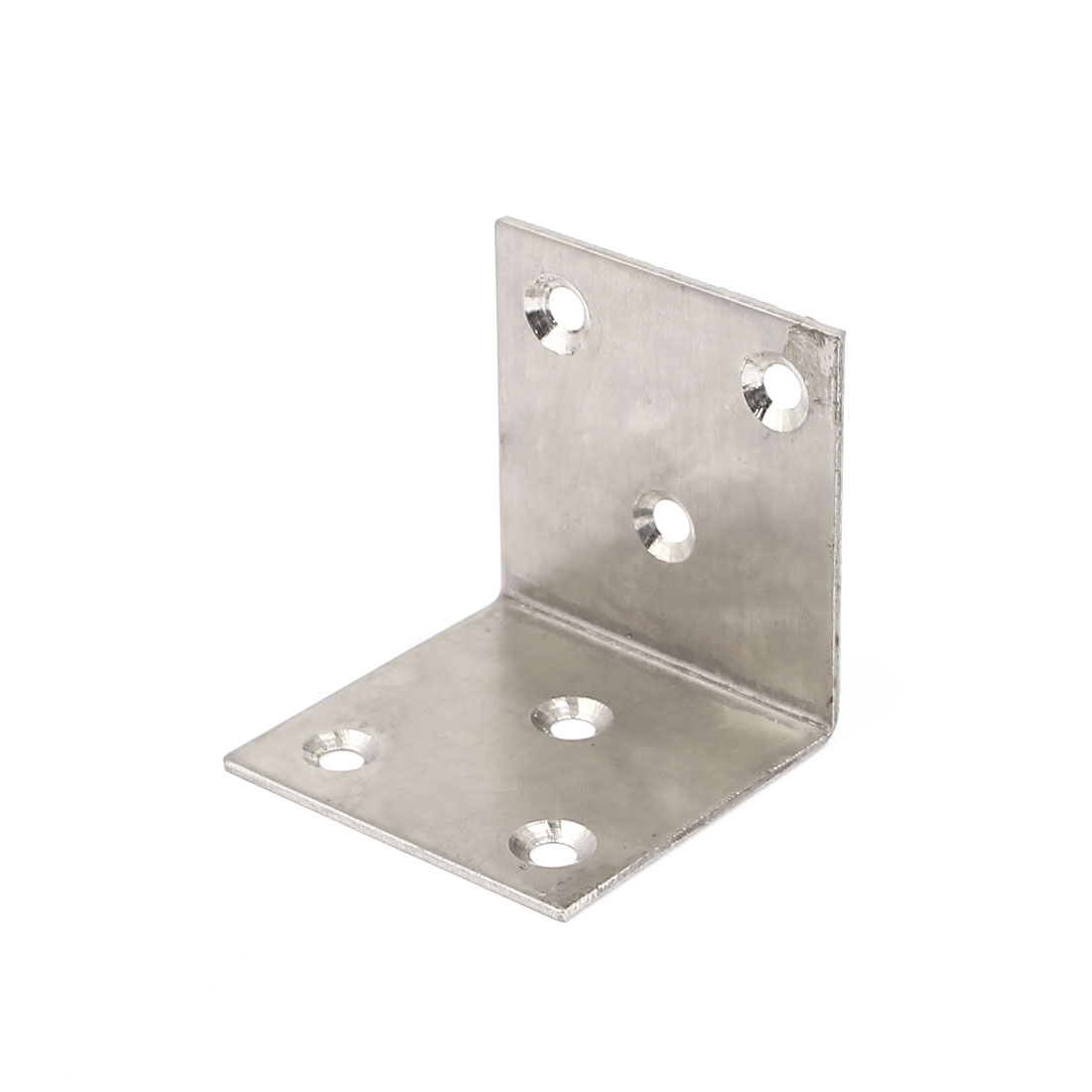 50mmx50mm L Shape Stainless Steel Shelf Wall Corner Brace Right Angle Bracket