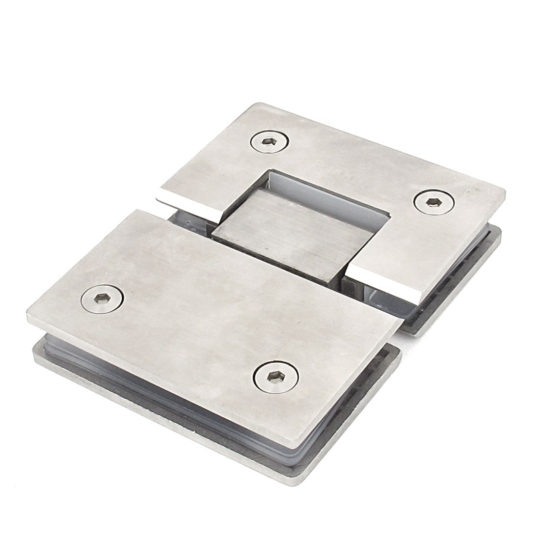 8mm Thick 202 Stainless Steel Bathroom Stair Glass Clip Clamp Support Bracket