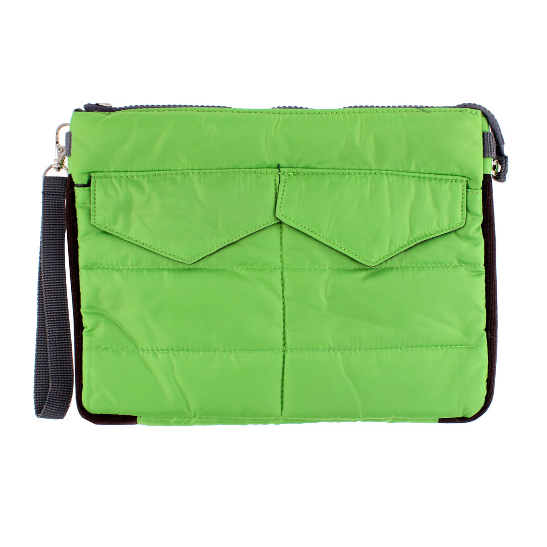 Universal Cotton Blends Bag Travel Case Protector Green for iPad Tablet