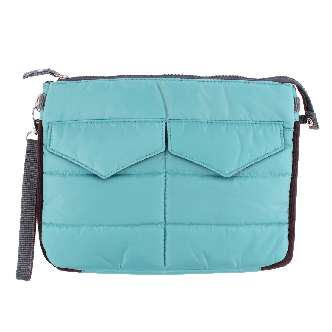 Universal Cotton Blends Bag Travel Case Protector Blue for iPad Tablet