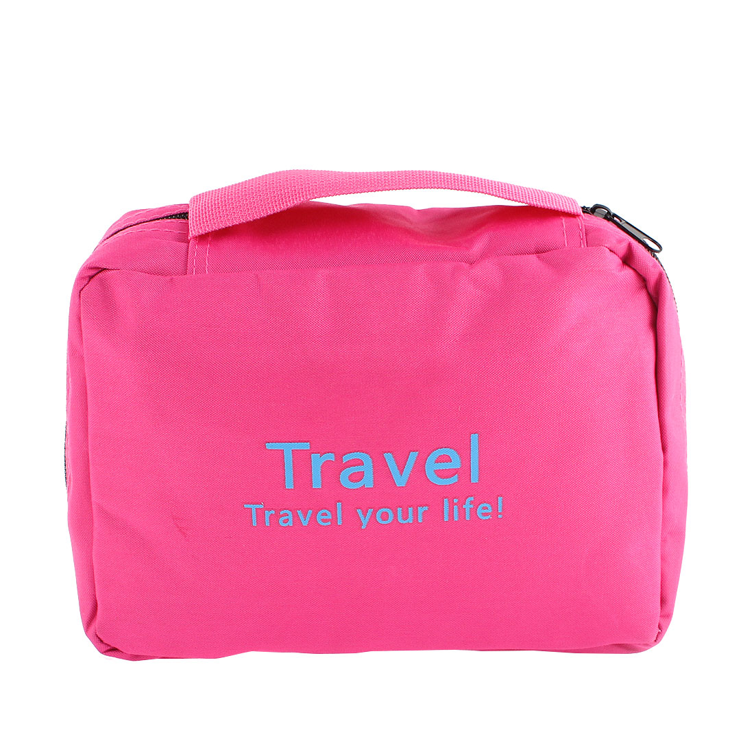 Multifunction Travel Cosmetic Bag Makeup Pouch Toiletry Case Fuchsia
