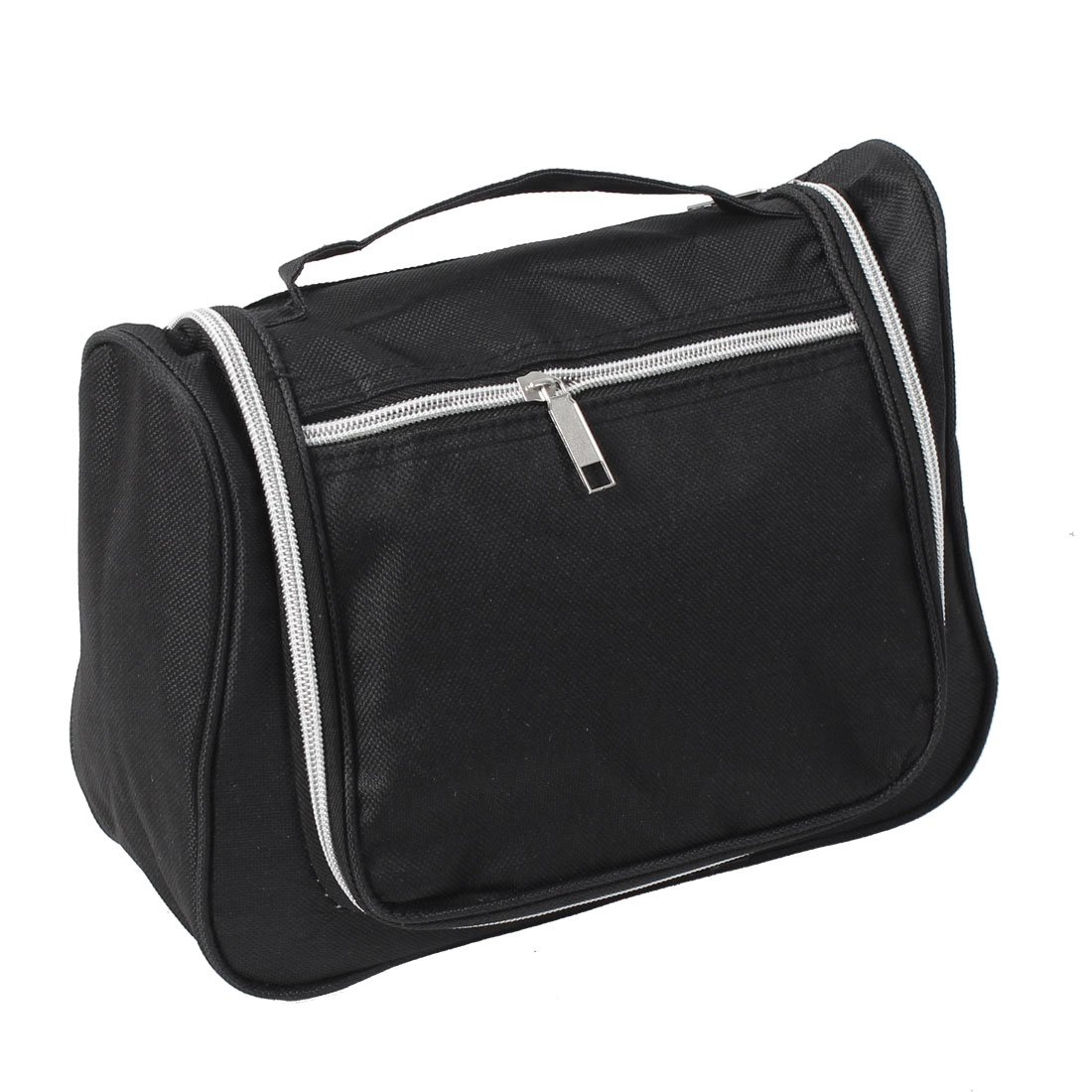 Travel Toiletry Makeup Case Wash Storage Bag Organizer Black