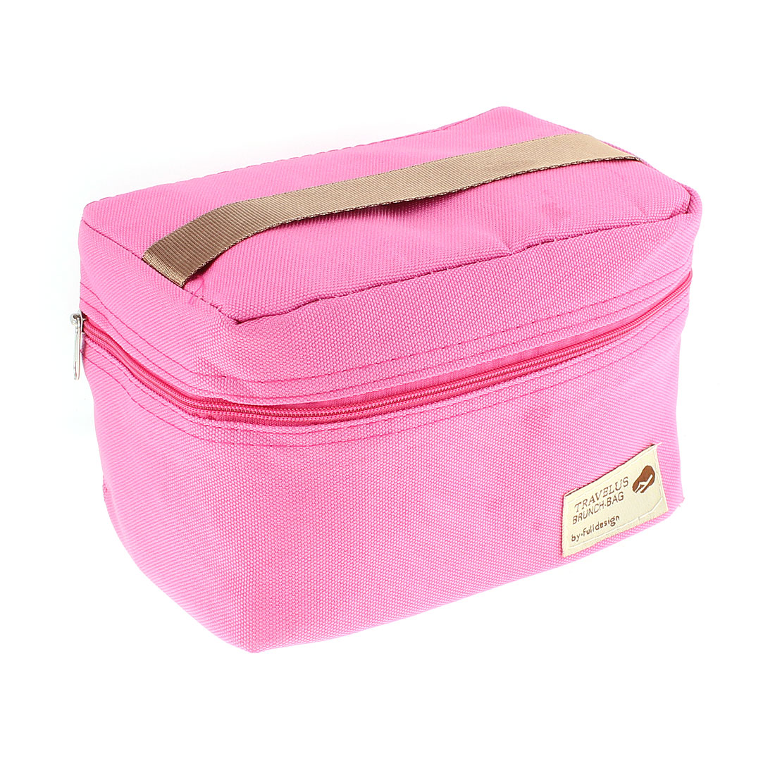 Thermal Insulated Travel Tote Picnic Bag Lunch Brunch Storage Box Fuchsia