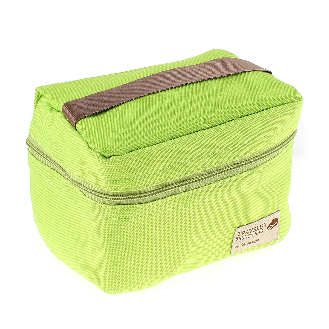 Thermal Insulated Travel Tote Picnic Bag Lunch Brunch Storage Box Green
