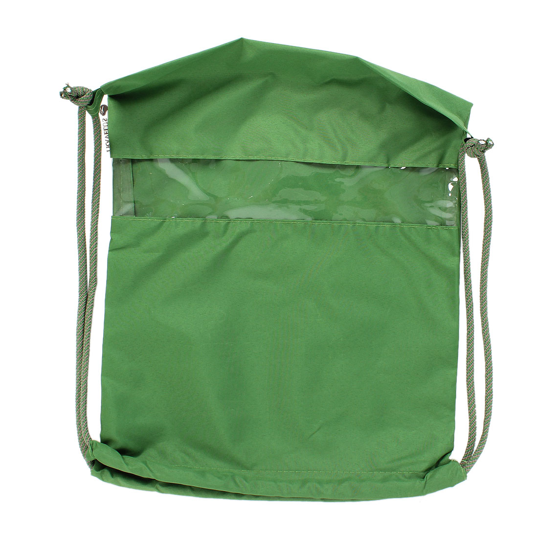 Green Drawstring Beach Gym Clothes Storage Shoulder Bag Back Pack
