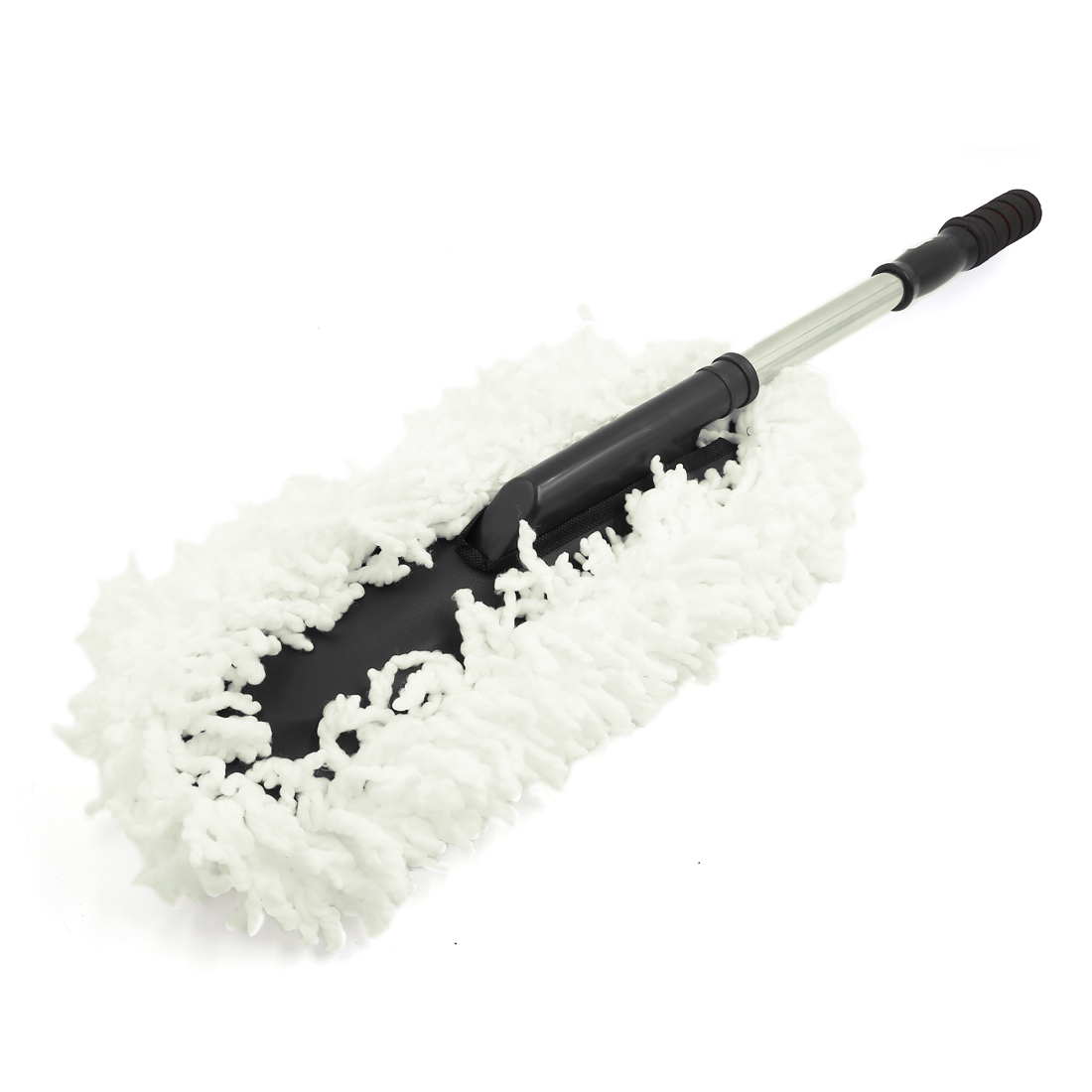 Home Car Wash Cleaning Brush Dusting Tool Microfiber Duster White 74cm Long