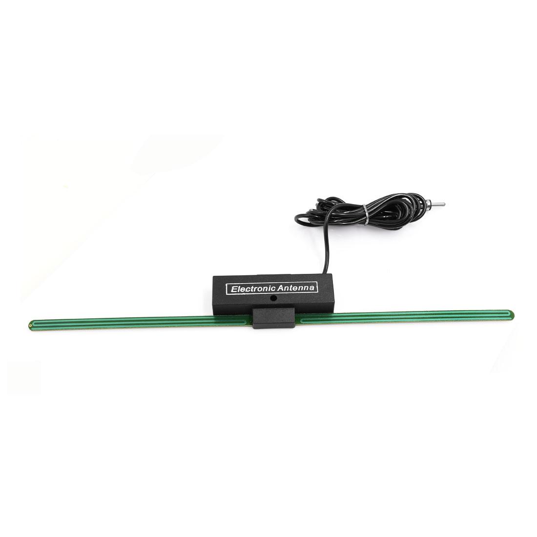Auto Car Windshield Mounted Self Adhesive Base TV FM Radio Electronic Antenna