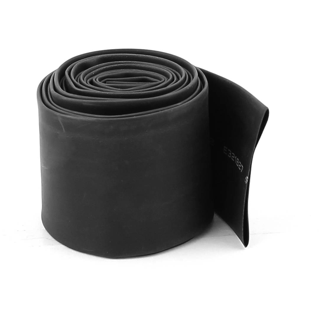 30mm Dia 2M Long Wire Wrap Heat Shrinkable Shrink Tube Sleeve Black