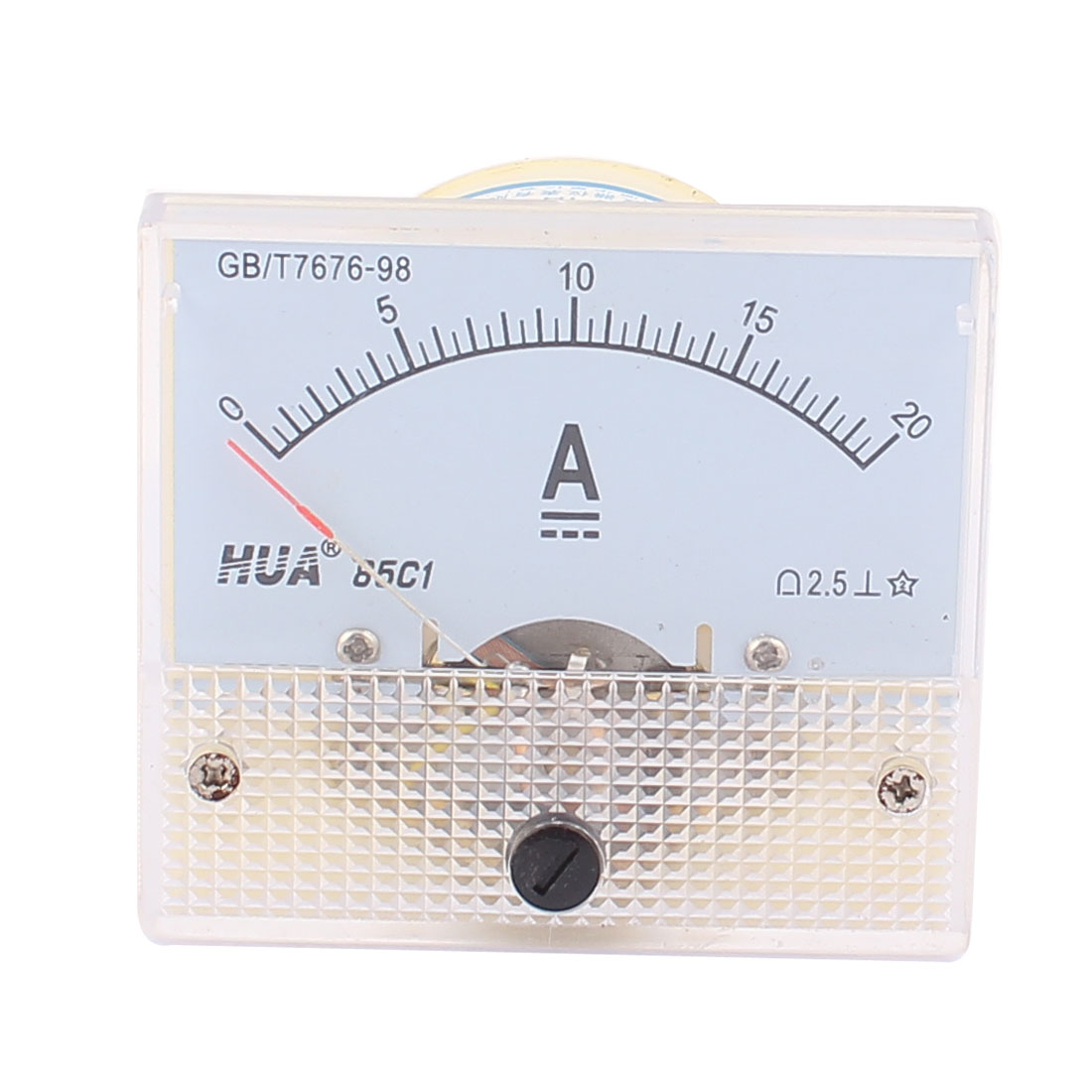85C1 Analog Current Panel Meter DC 0-20A Ammeter Gauge