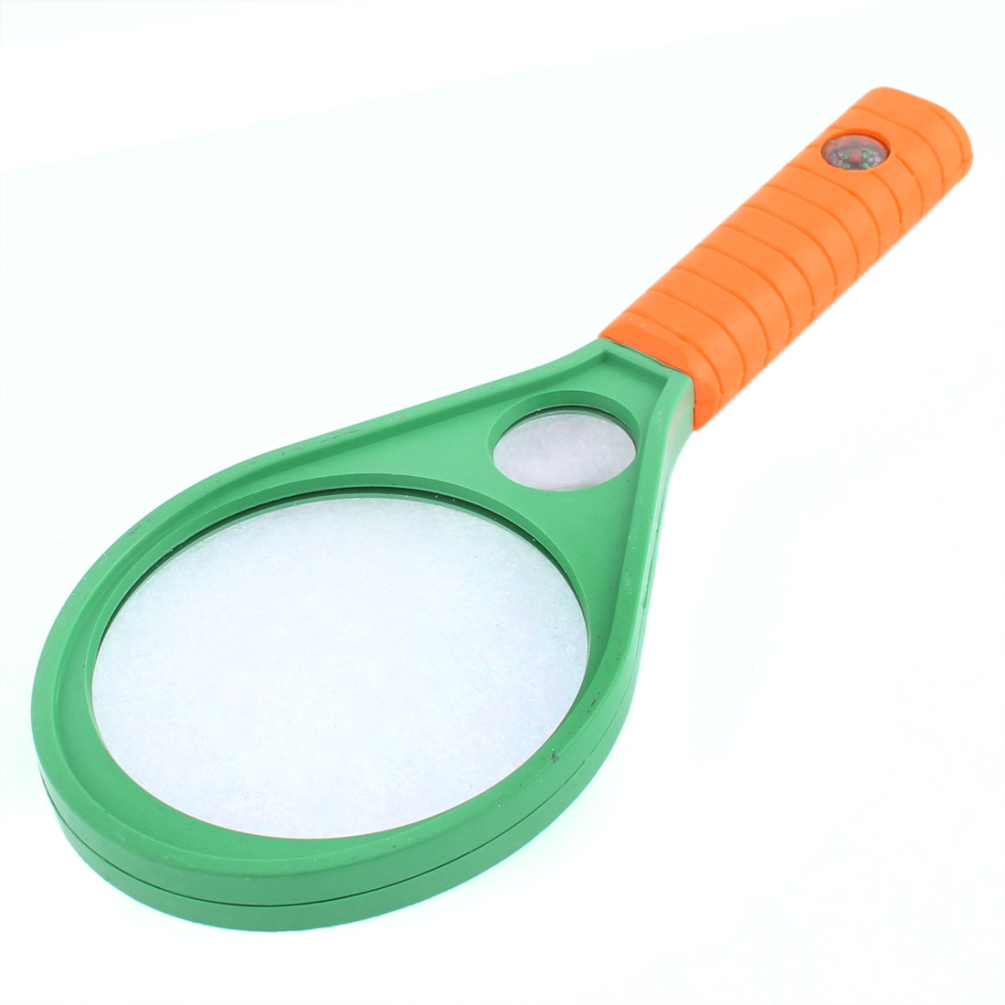 Racket Style Nonslip Grip 85mm Lens Handheld Reading Magnifying Glass Magnifier 3X