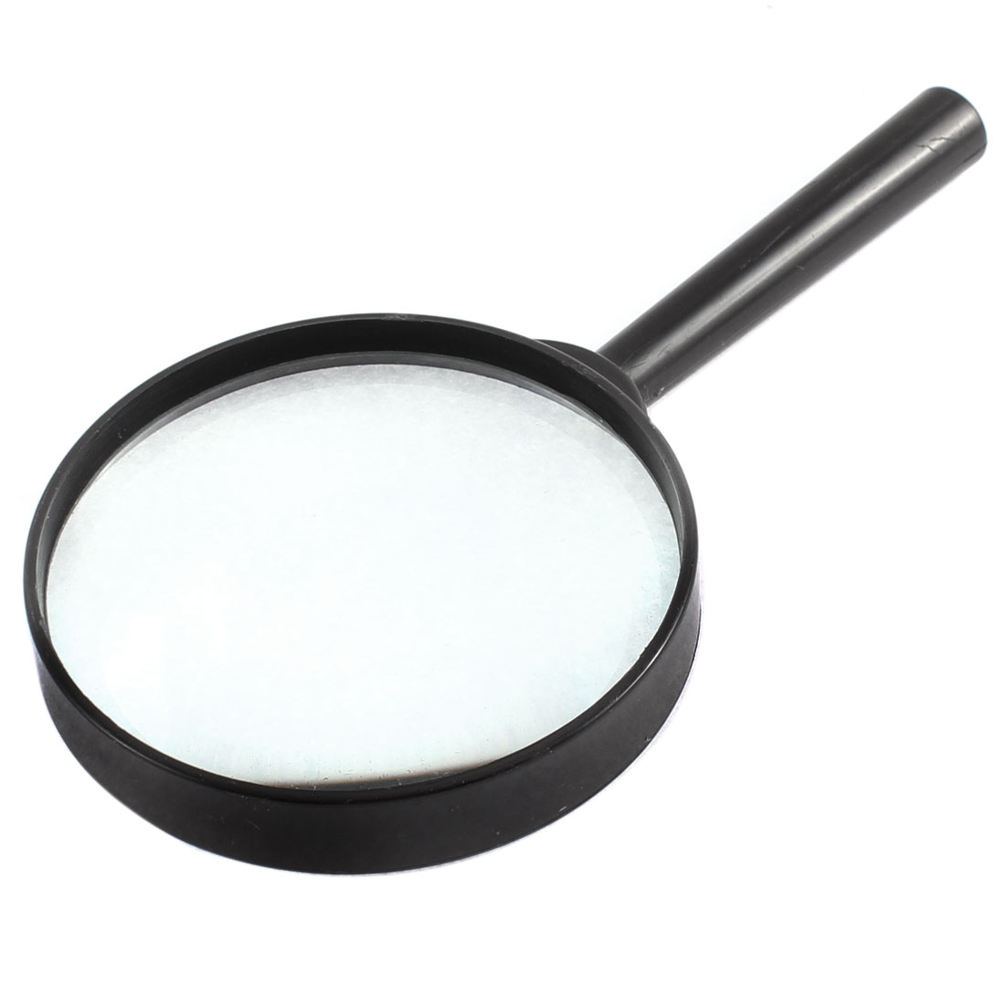 Plastic Frame 90mm Lens 4X Handheld Magnifier Reading Magnifying Glass Jewelry Loupe