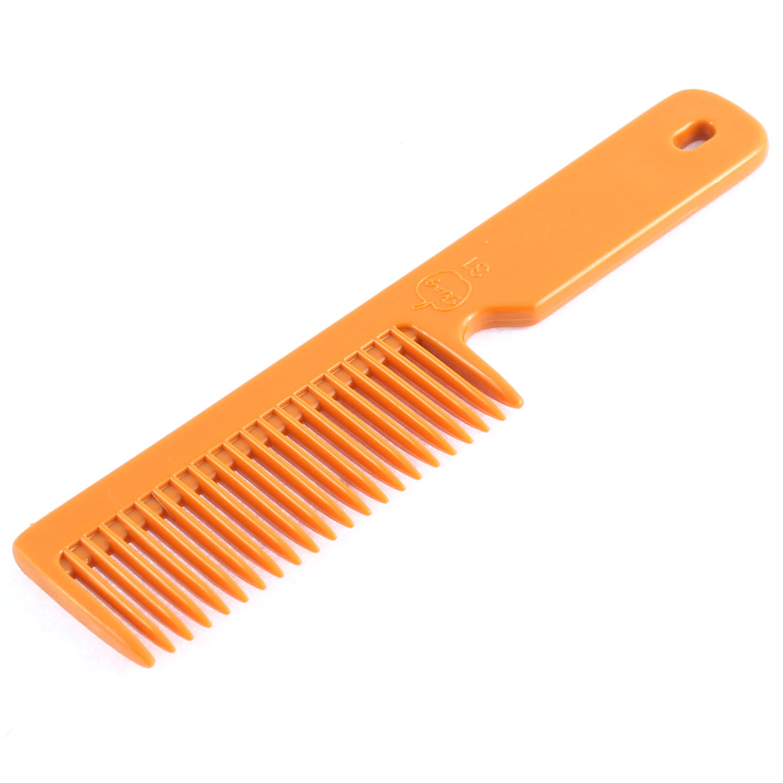 Salon Household Hairstyle Hairdressing Barbers Brown Plastic Comb 14cm Length