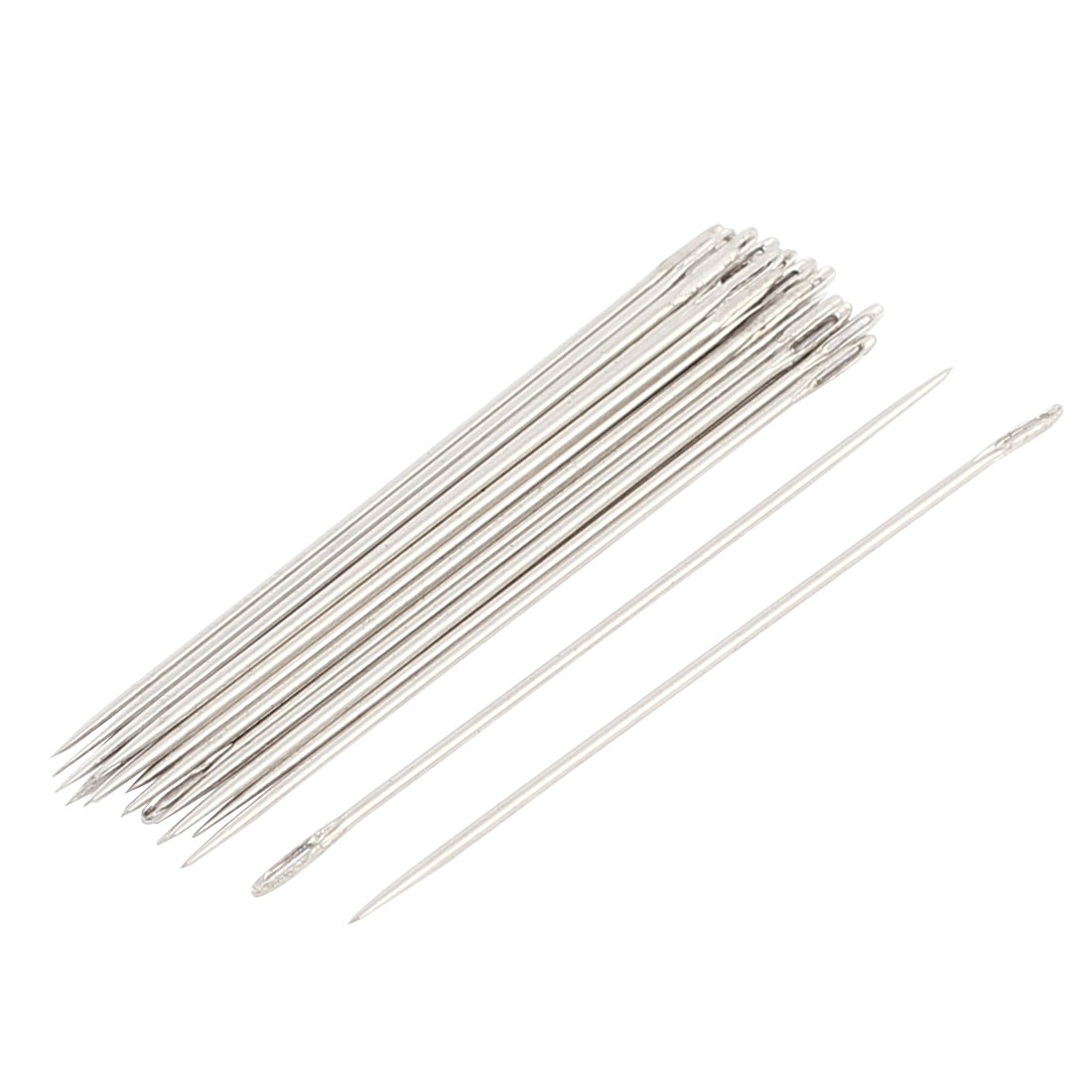 Domestic Sewing Machine Hand Embroidery Metal Threading Needles 40mm Long 25 Pcs
