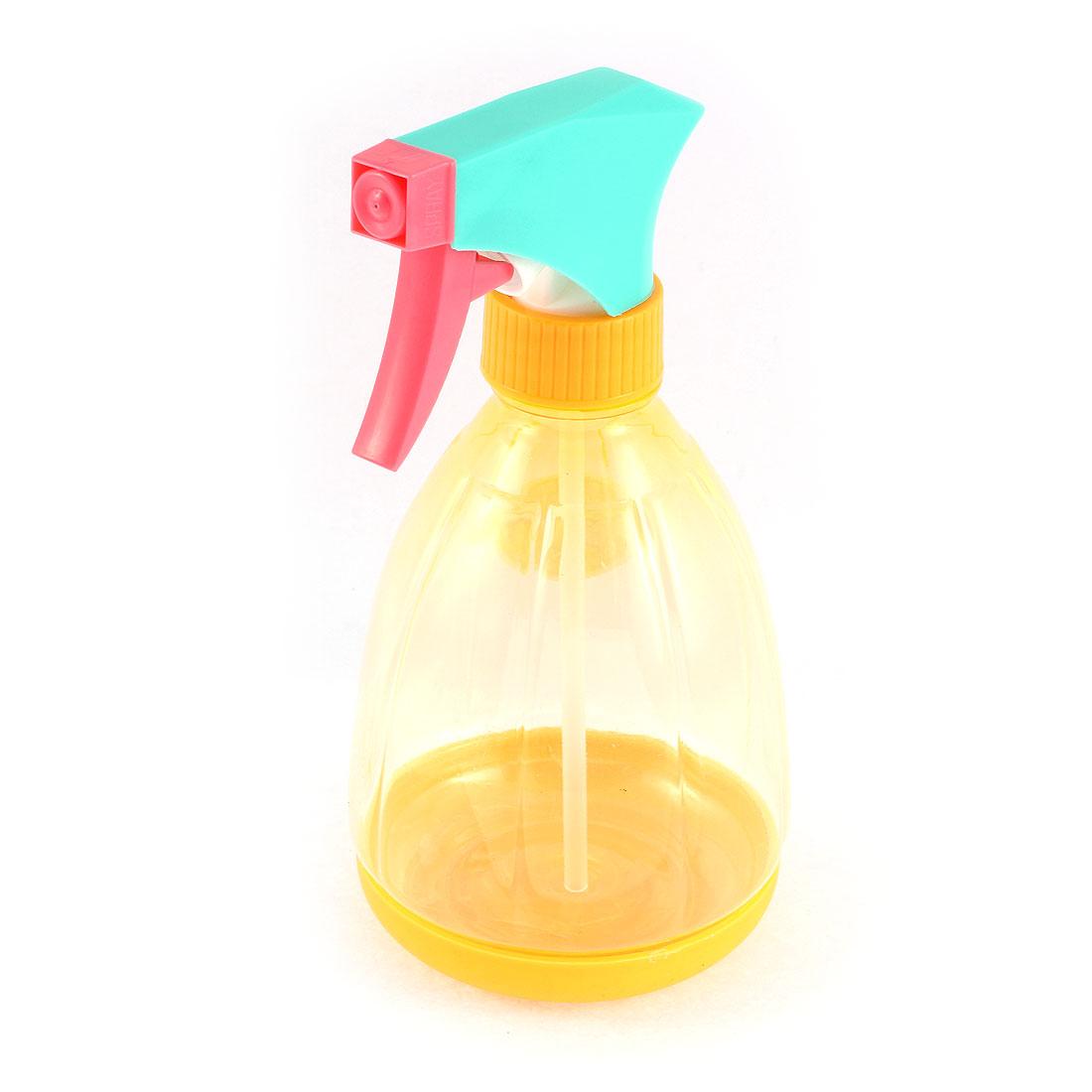 Home Gardening Hair Salon Cleaning Plastic Handhold Trigger Spray Bottle 400ml