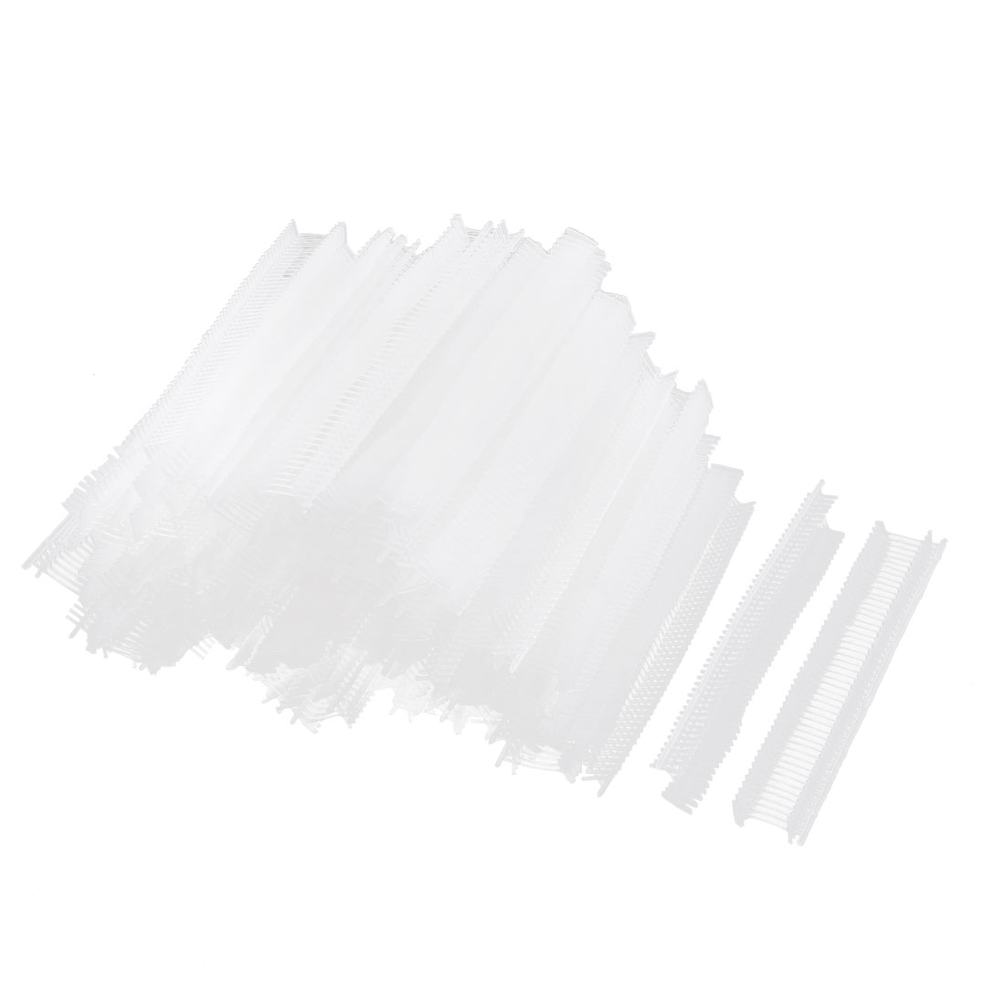 Polypropylene Tag Pins Barbs Fastener Clear White 10mm 5000 Pcs for Tagging Gun