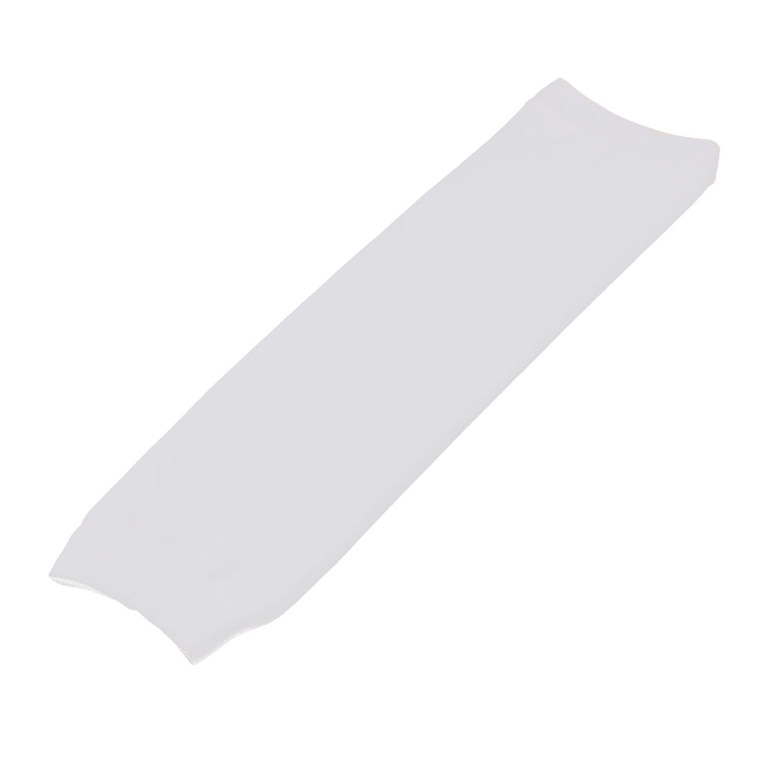Fitness Elastic Fabric Sleeve Protective Elbow Arm Support Guard Brace White