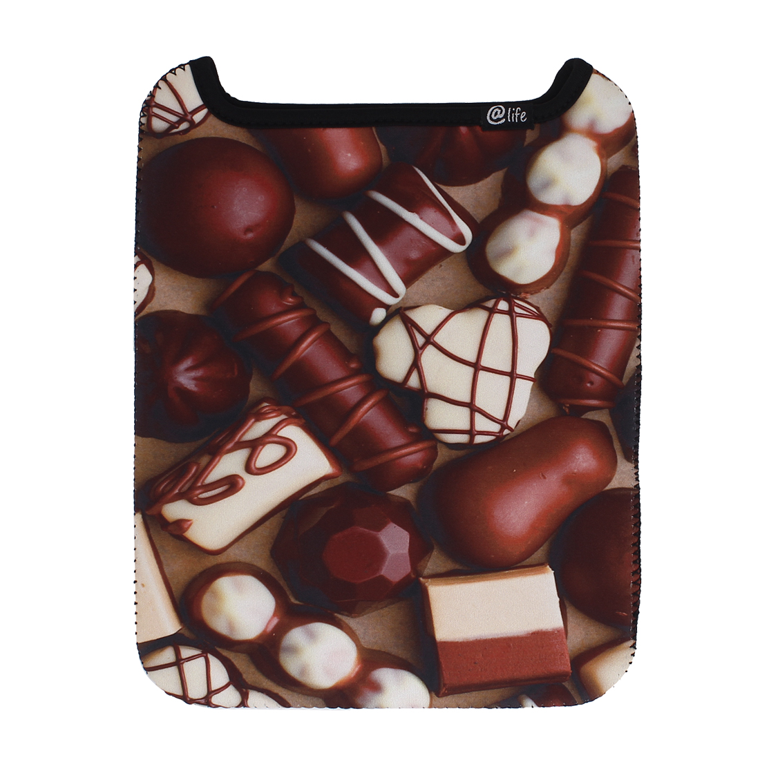 Tablet Laptop Carrying Vertical Sleeve Case Bag Cover Pouch Chocolate Color