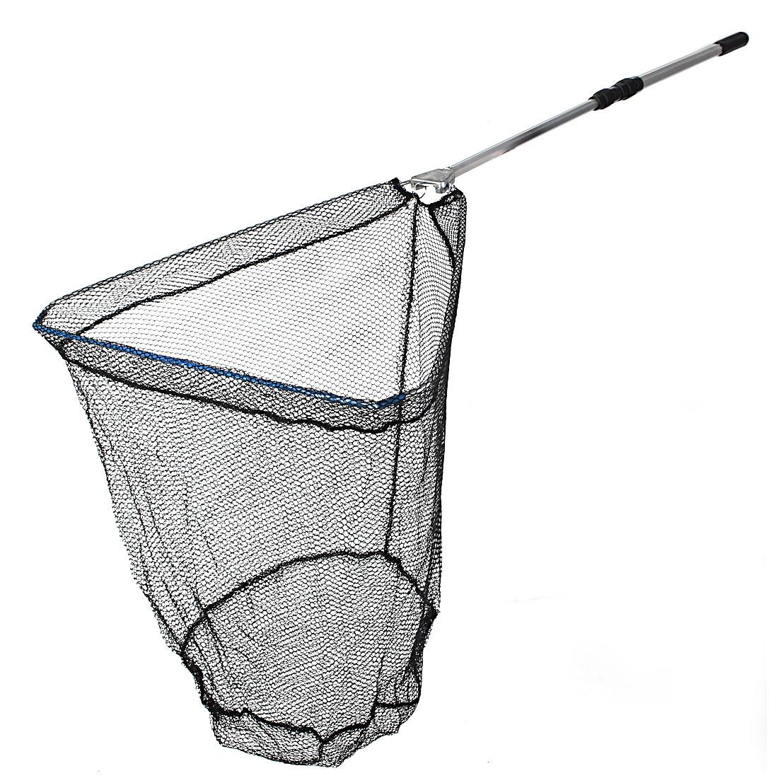 Green Mesh Fishing Folding Nylon Netty Dip Landing Net