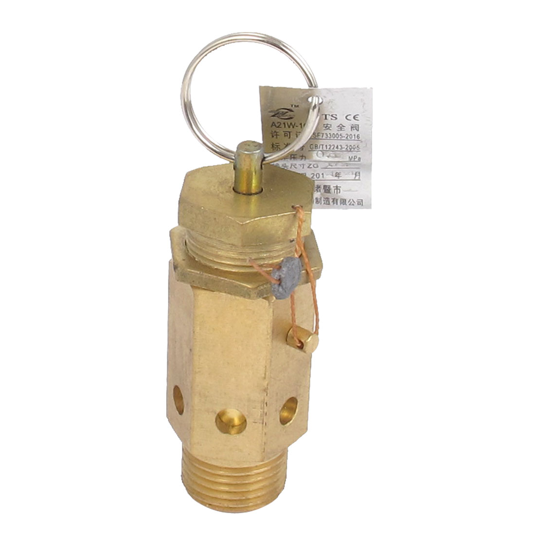 Air Compressor Pressure Relief Safety Valves Release Pneumatic Fitting 1/2BSP