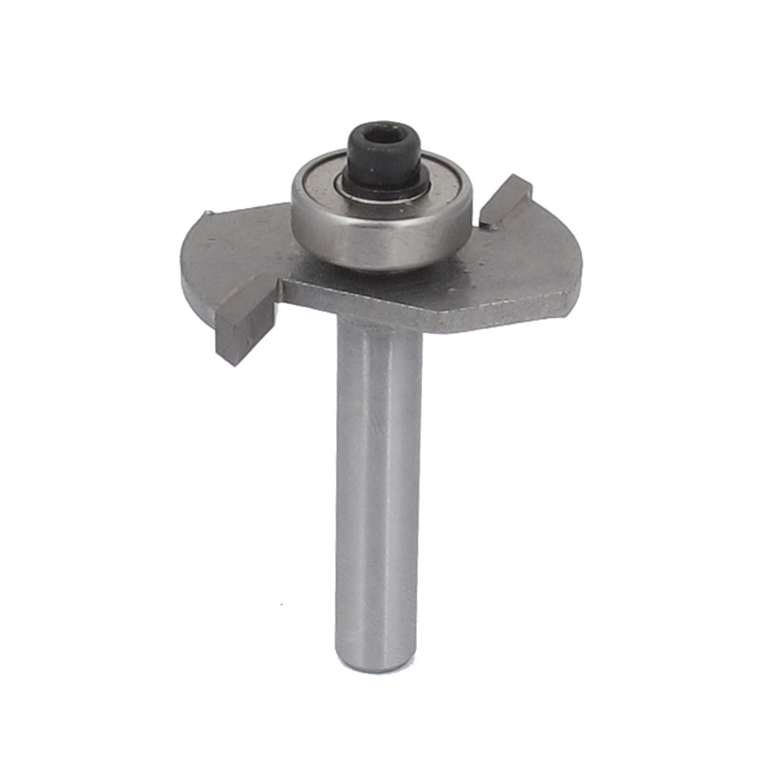 "1/4"" Straight Shank 1/8"" Cut Depth Bearing T Slot Undercut Router Bit"