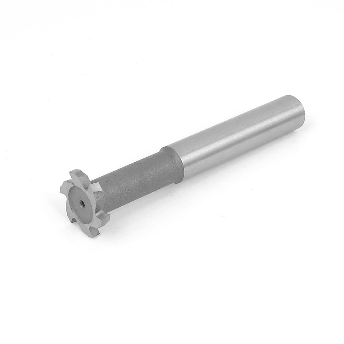 20mm Cutting Dia 3mm Depth 6 Flutes HSS-AL T Slot End Mill Milling Cutter