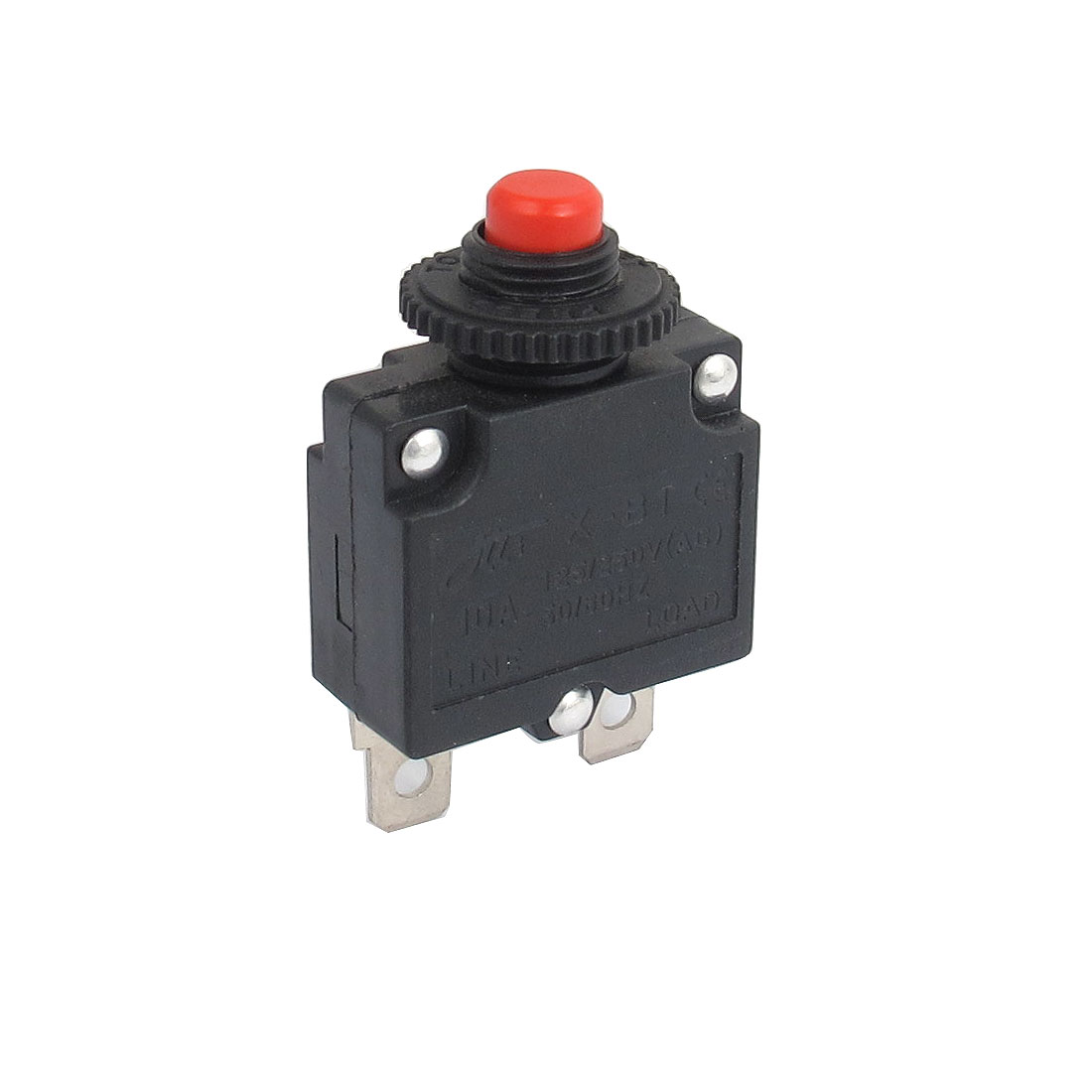 AC 125/250V 10A Air Compressor Protective Circuit Breaker Overload Push Button Switch