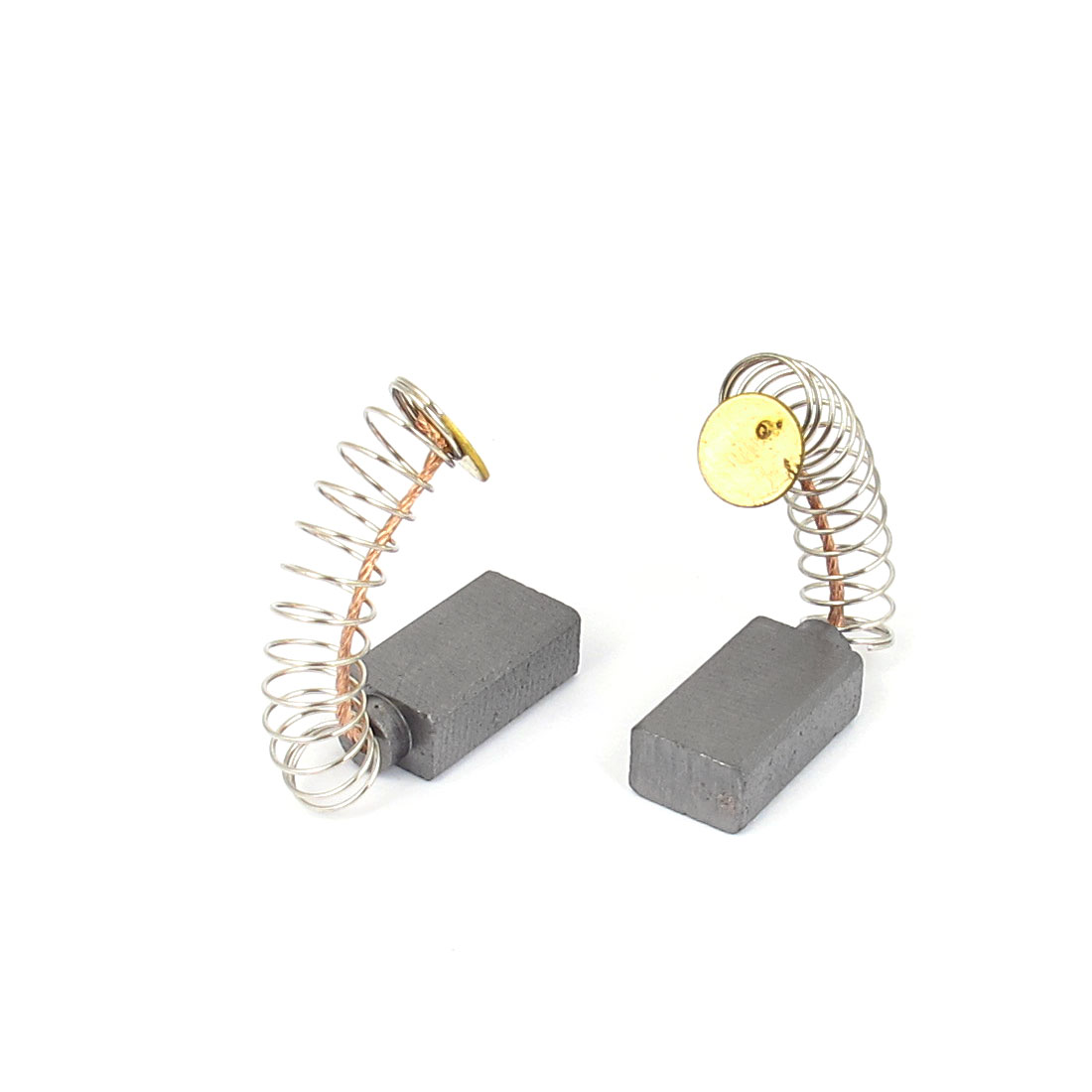 2PCS 14mmx8mmx5mm Spring Type Carbon Brushes for Generic Electric Motor