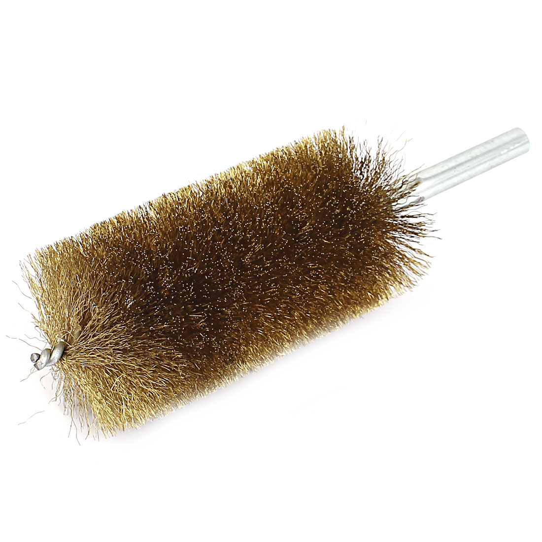 50mm Brush Dia Copper Wire Tube Brushes Cleaning Tool