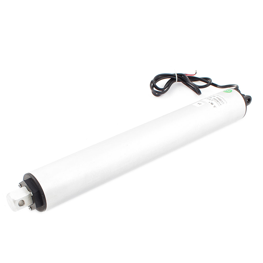 24V DC 200mm 8 Inches Stroke Force 120N Electric Tubular Linear Actuator Motor High Speed 130mm/s