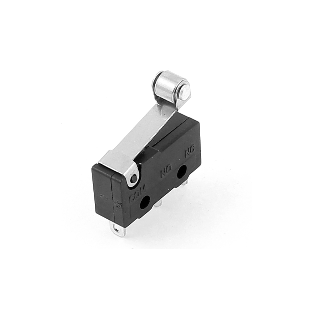 AC220 5A Micro Limit Switch Short Roller Lever Arm Subminiature SPDT Snap Action