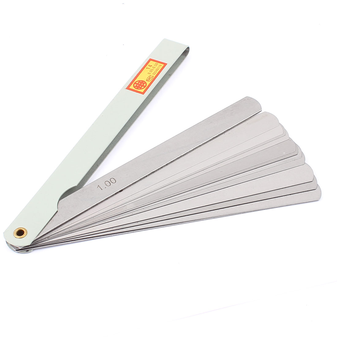 0.05mm to 1mm Thickness Gap Metric Filler Feeler Gauge Measure Tool