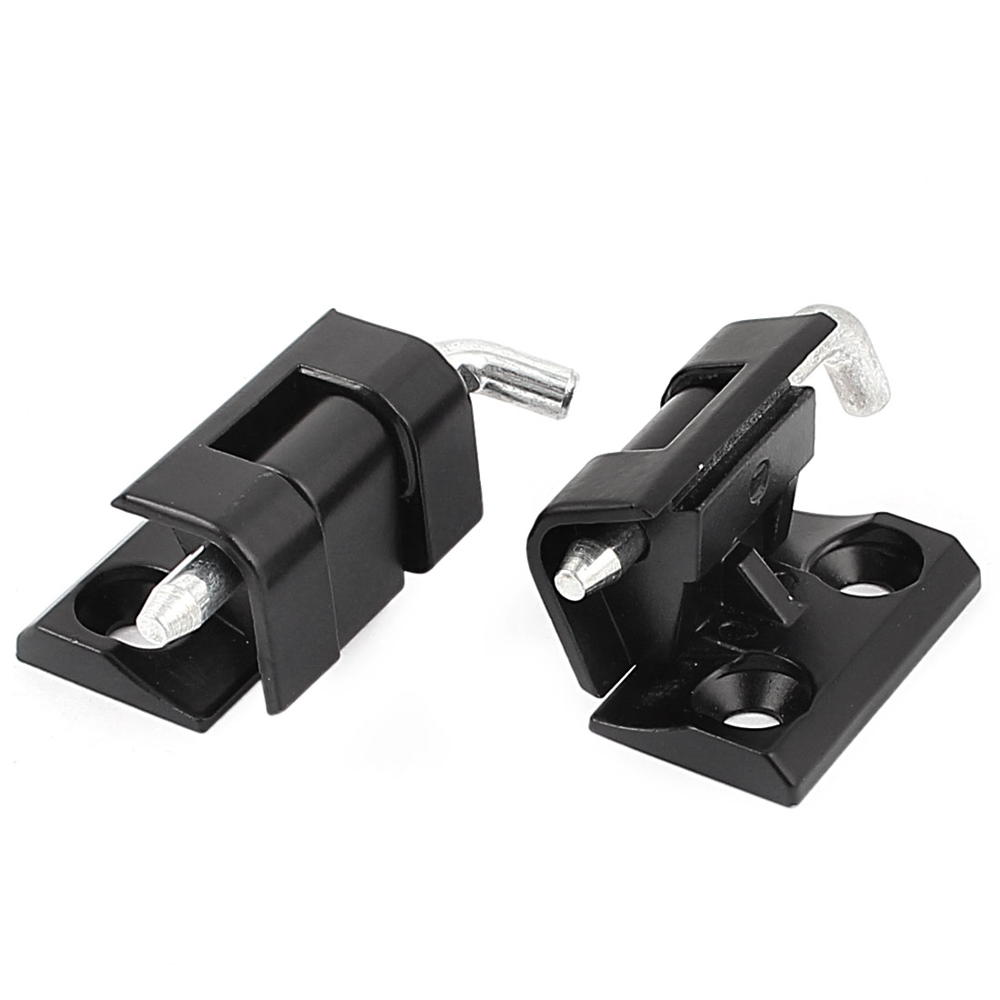 Black Powder Metal Coated Hidden Hinge CL212 for Electricity Cabinet 2pcs